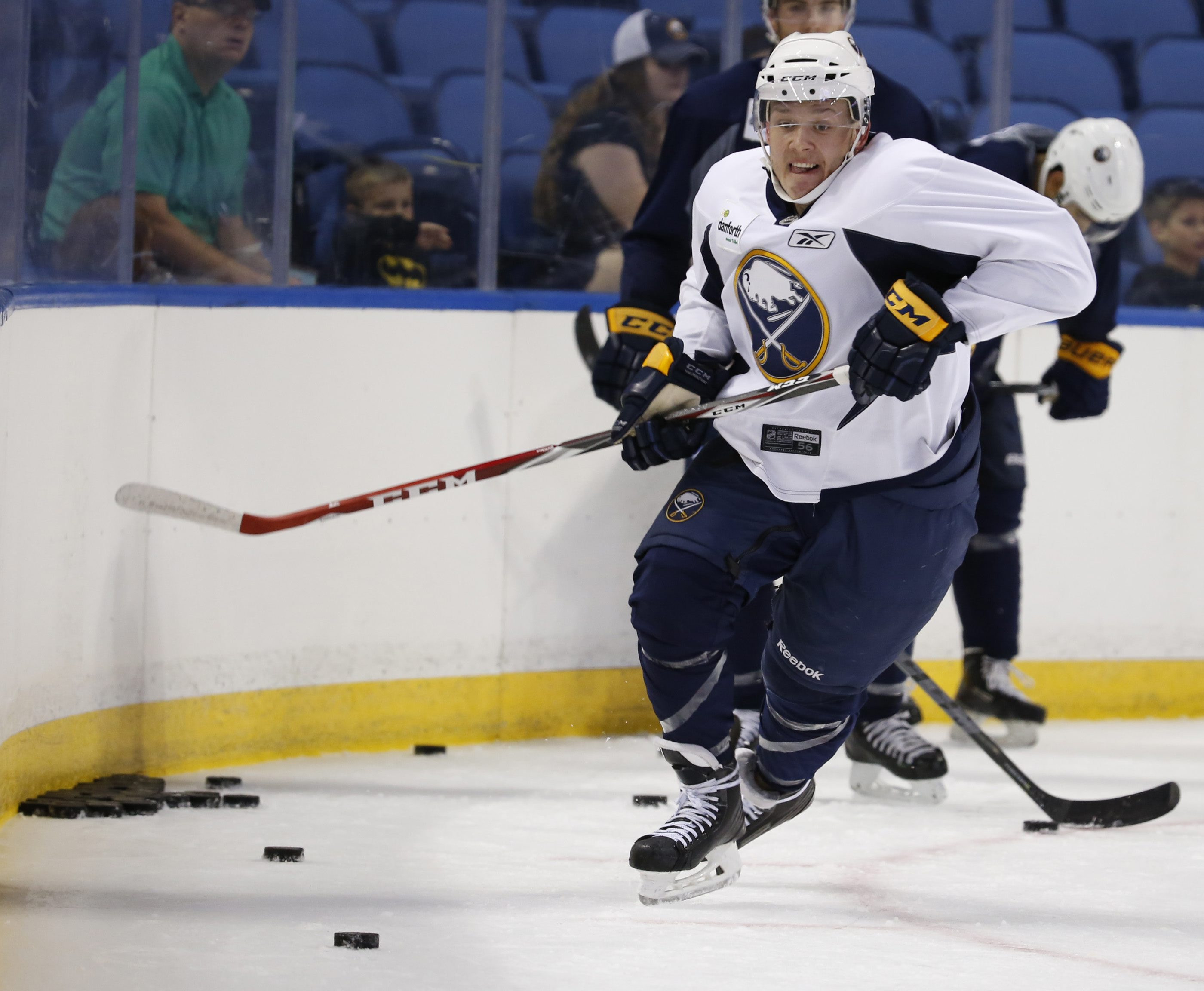 Vaclav Karabacek participates in the Buffalo Sabres' 2015  development camp. (Harry Scull Jr/Buffalo News)
