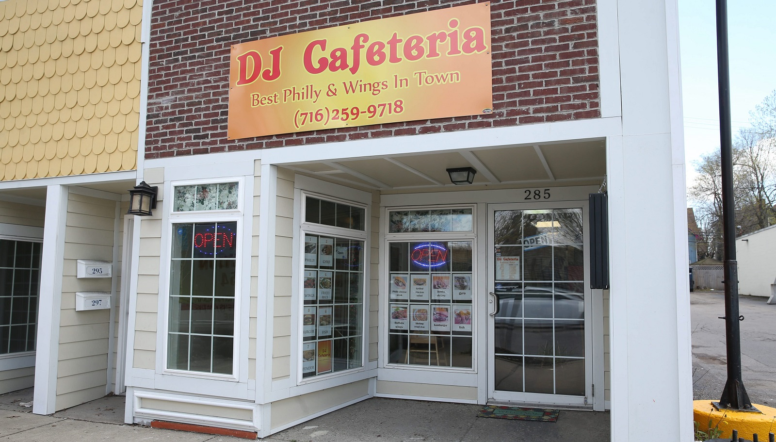 DJ Cafeteria opened on March 1 at 285 Parkside Ave. (Sharon Cantillon/Buffalo News)