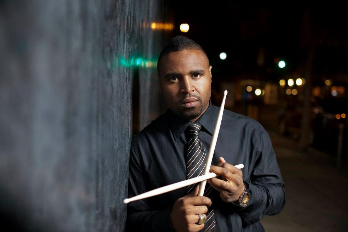 Drummer Kendrick Scott brings his Kendrick Scott Oracle to the Drama Theatre, UB Center for the Arts, on May 12.