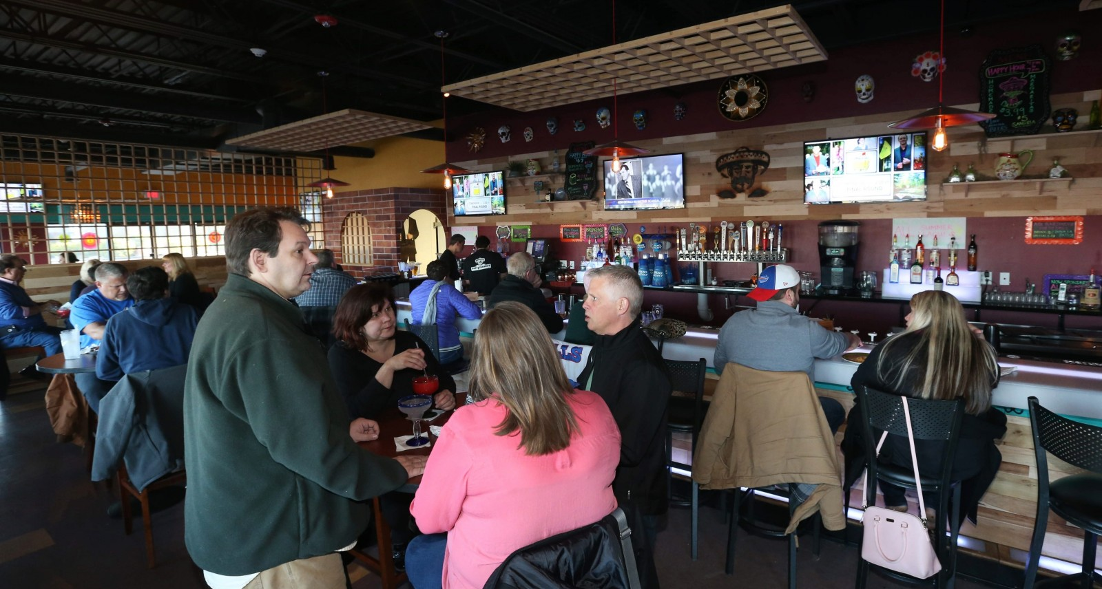 Papi Grande's Mexican Restaurant & Cantina opened recently at 4276 Maple Road in Amherst next to the AMC Maple Ridge 8 theater in space formerly occupied by The U. (Sharon Cantillon/Buffalo News)