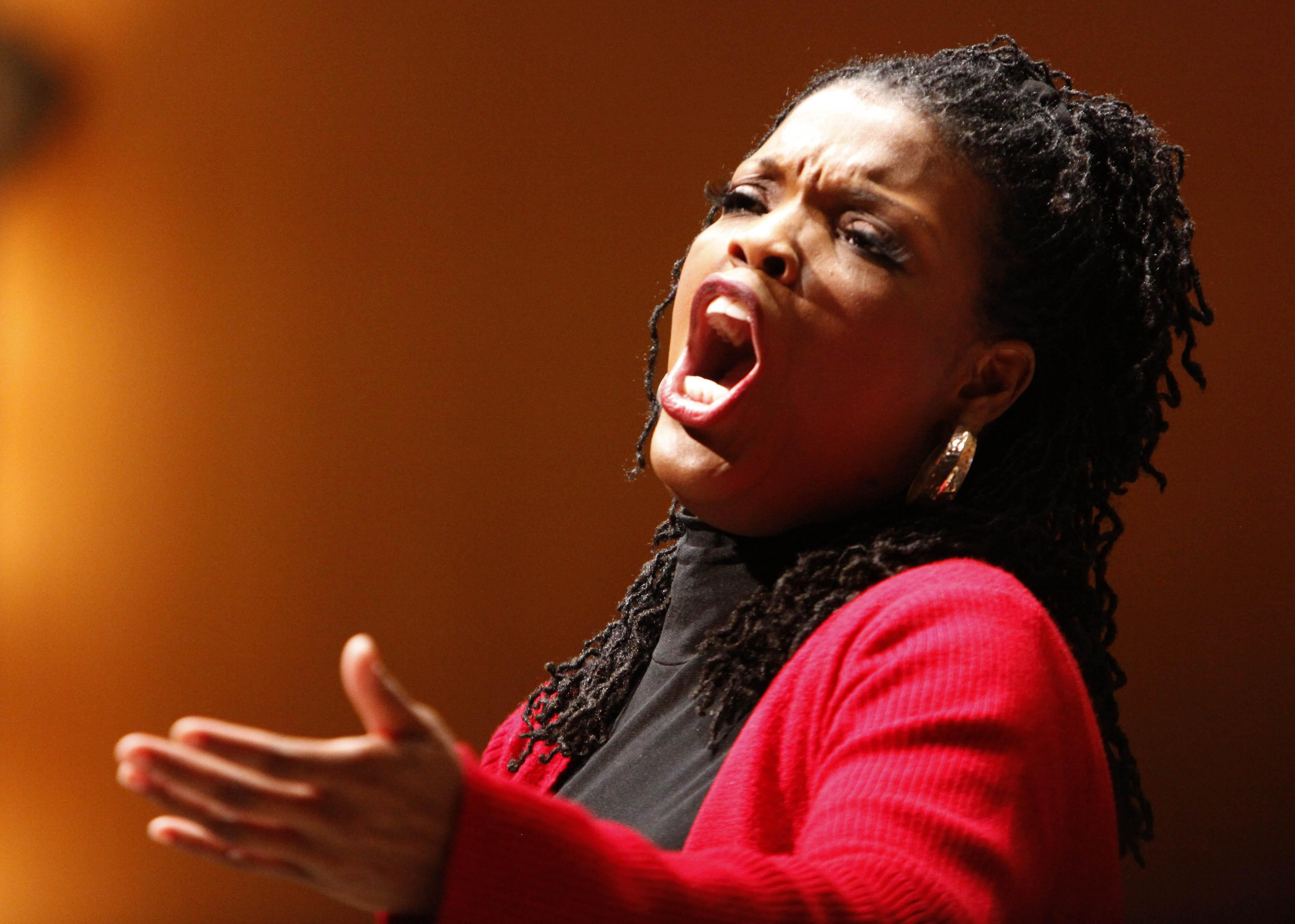 Metropolitan Opera star Angela Brown has performed before in Buffalo to audience acclaim.
