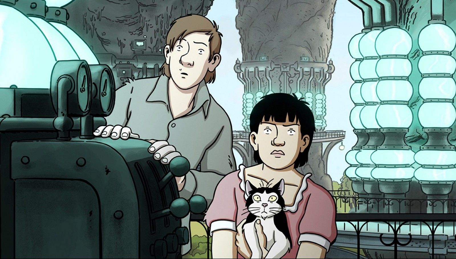 """""""April and the Extraordinary World"""" is a French-language animated film."""