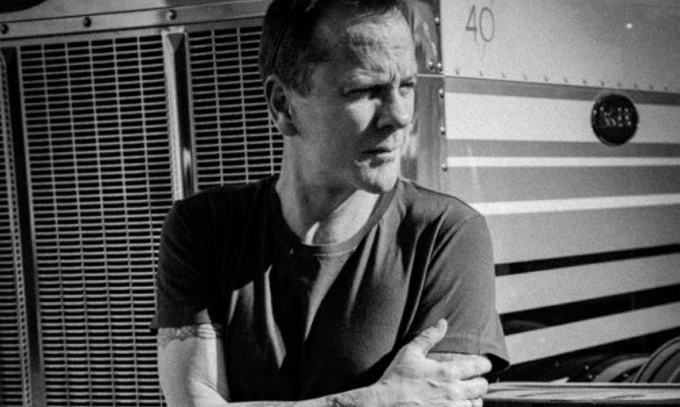 """Kiefer Sutherland will perform songs from his debut album, """"Down in a Hole,"""" May 16 in Buffalo Iron Works."""