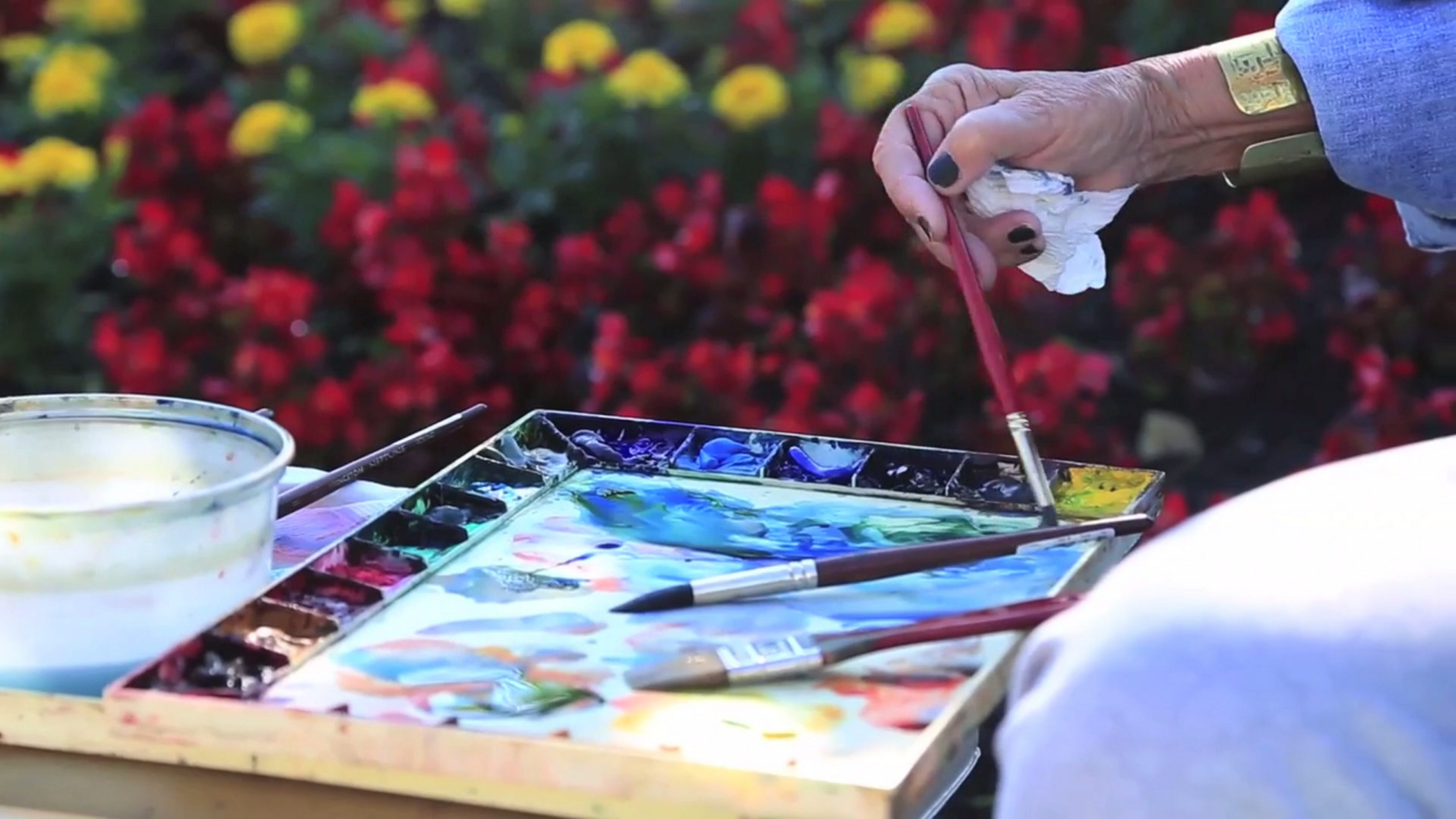 """Jon Hand's video profile of Buffalo artist Rita Argen Auerbach will be screened as part of the Castellani Art Museum's """"Meet Me at the CAM."""""""