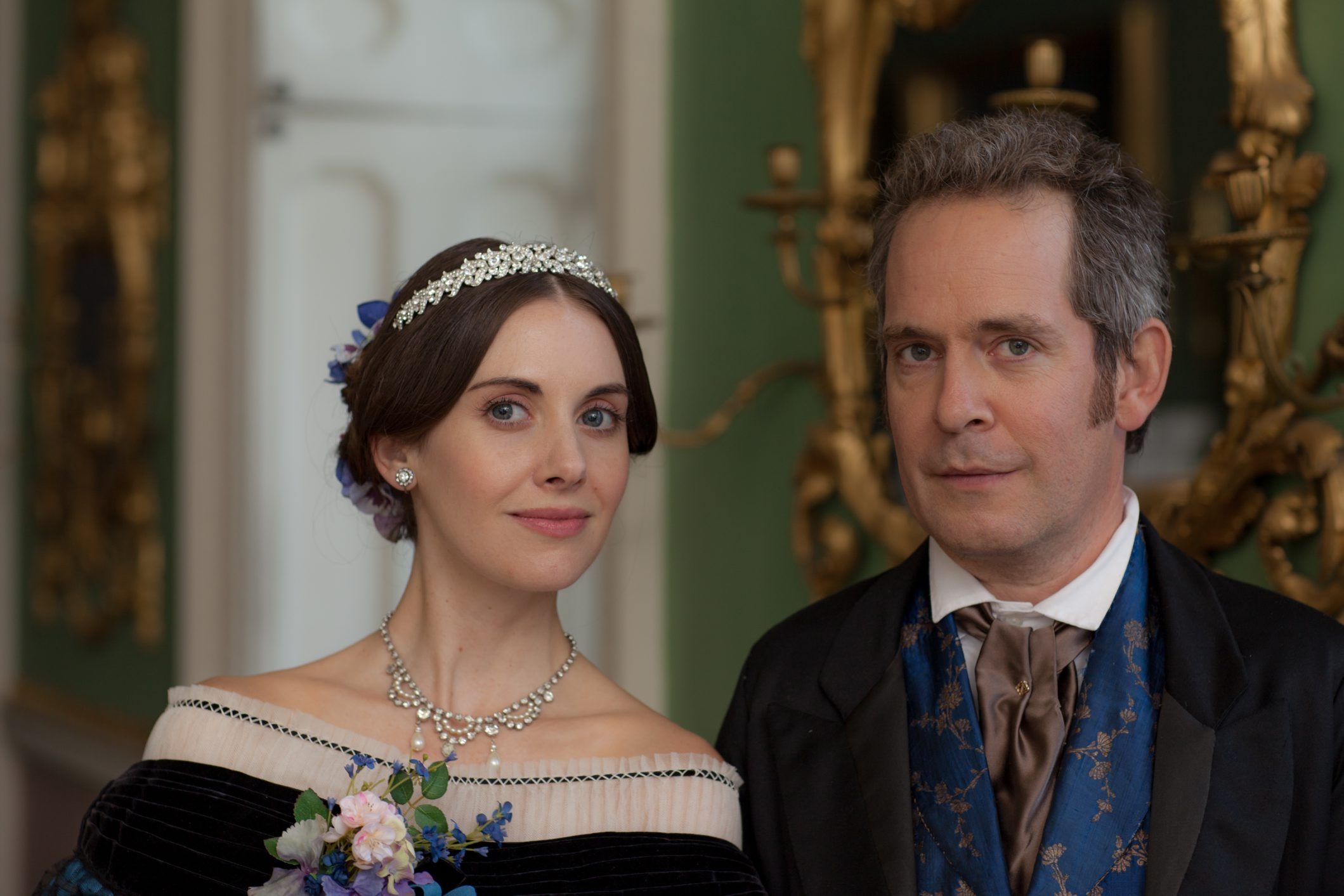"""Alison Brie plays an American and Tom Hollander a doctor in """"Julian Fellowes Presents Doctor Thorne."""""""