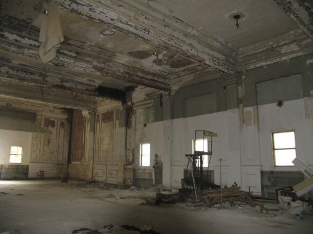 Jackie Albarella's photos of the Hotel @ the Lafayette before and after its renovation are on view in the Buffalo History Museum.