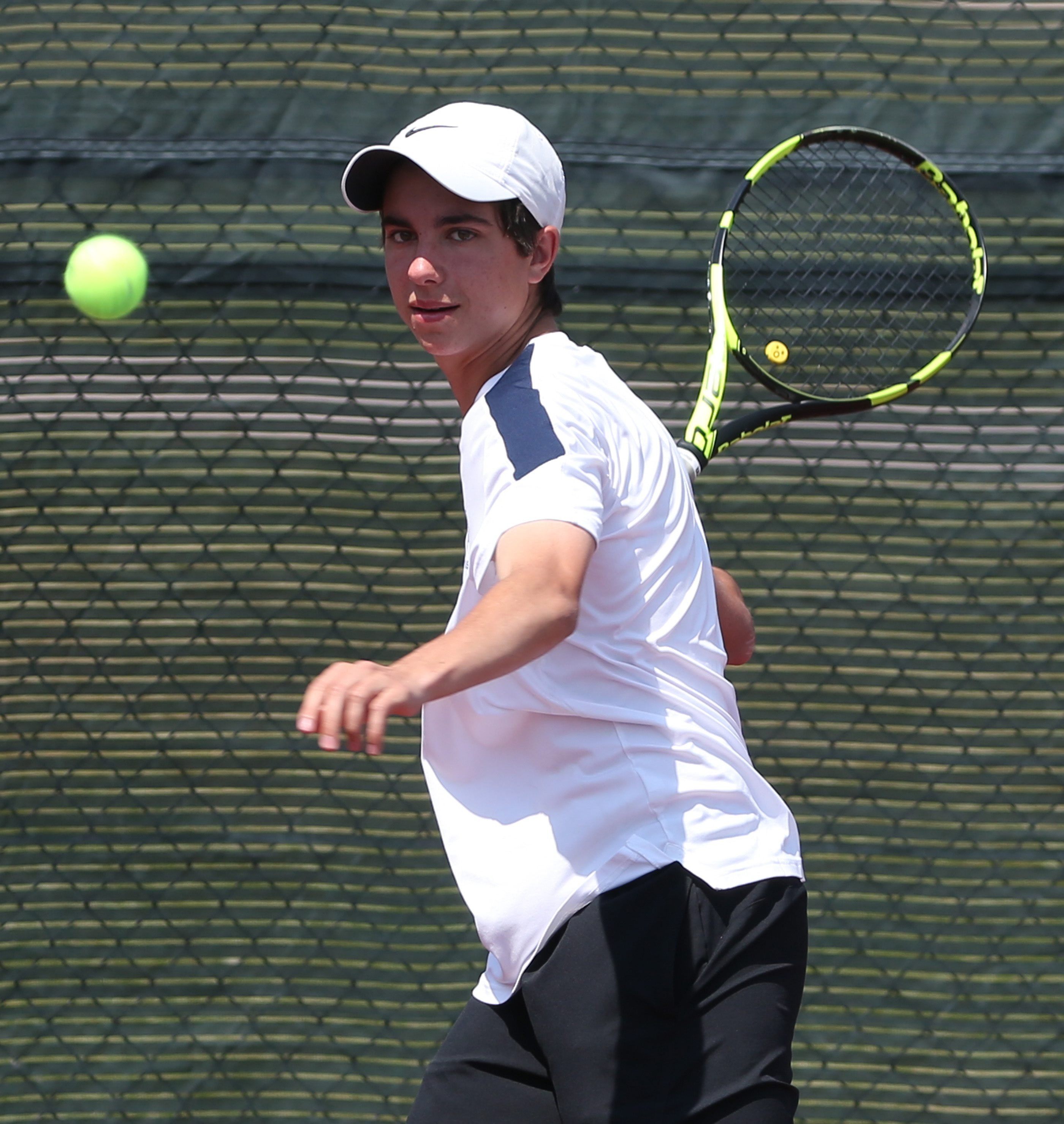 Jack McClaren of East Aurora picked up his second straight Section VI boys tennis singles championship.
