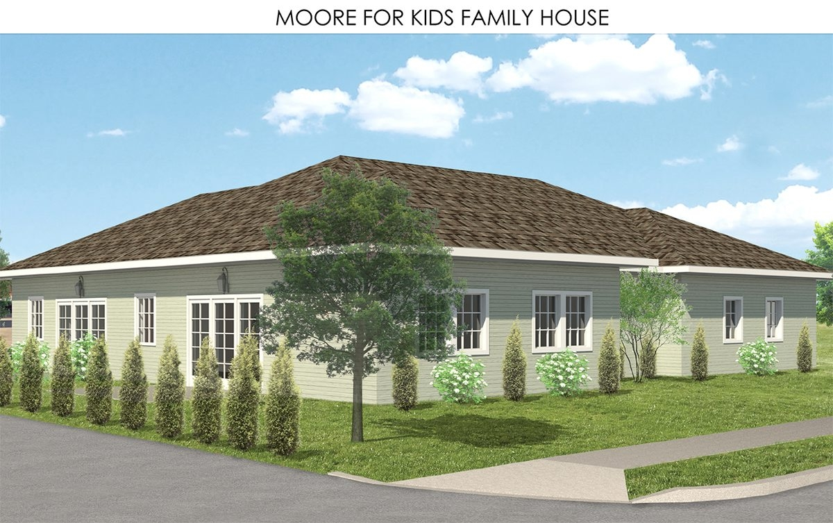 A $1 million donation from Moore for Kids Foundation will fund a respite home where parents  can stay as their kids receive care Baker Victory Services.
