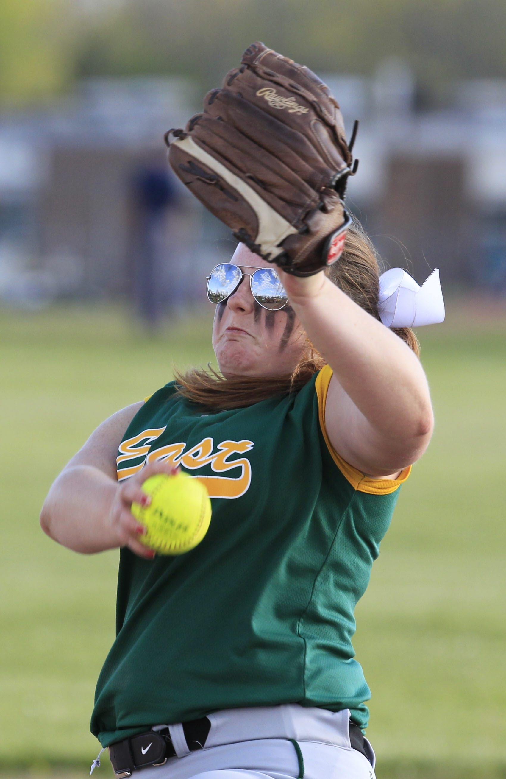 West Seneca East pitcher Miranda Manquen and teammates are the No. 2 seed in Class A-1 playoffs.