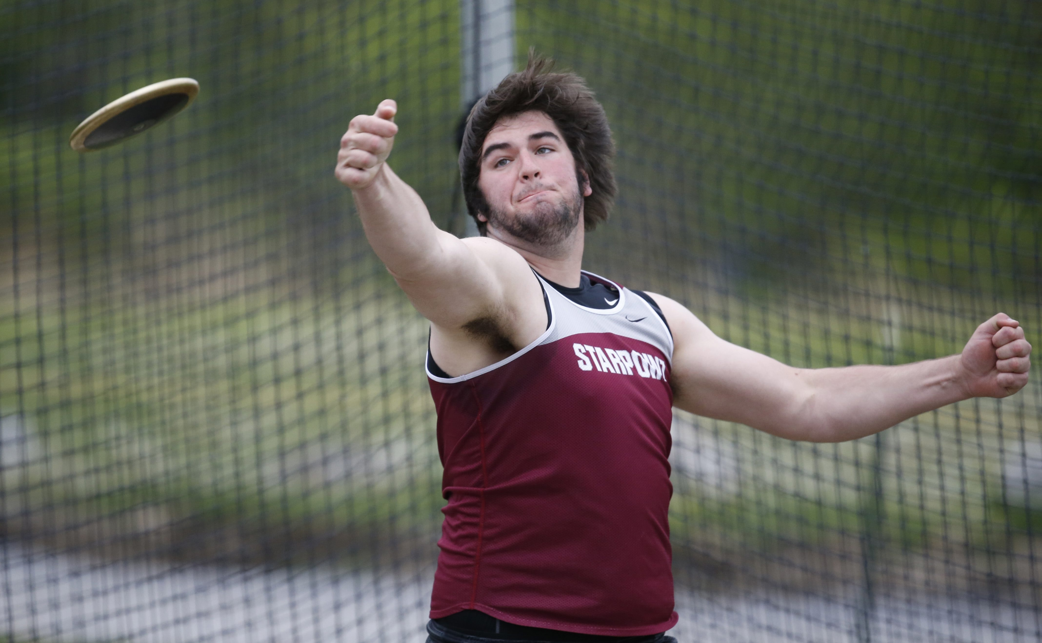 Starpoint's Sam Wray was one of the big winners at the 42nd annual Carl J. Roesch Memorial Boys Track Classic.