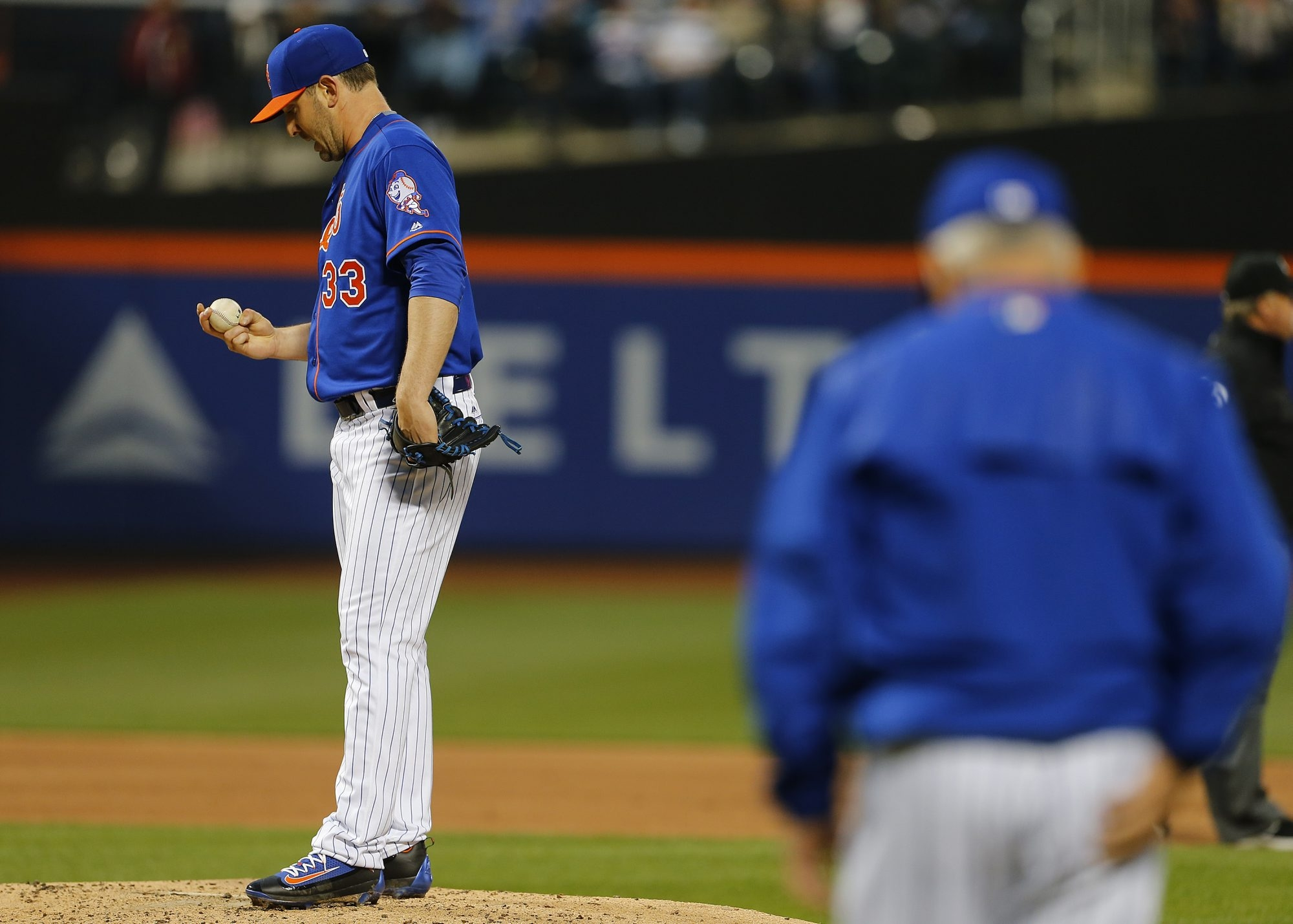 New York Mets pitcher Matt Harvey is the subject of serious questions related to his health and power.