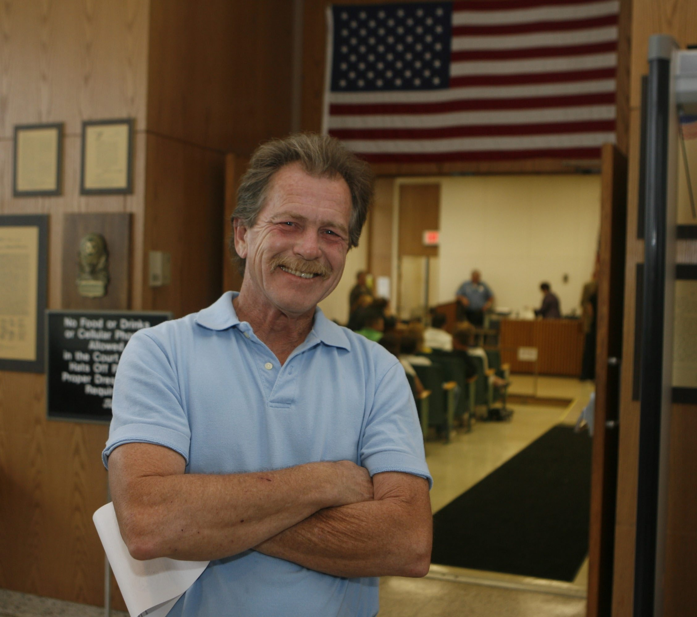 """""""I've got a whole bunch to say,"""" Rus Thompson says on ballot issue before Friday court date."""