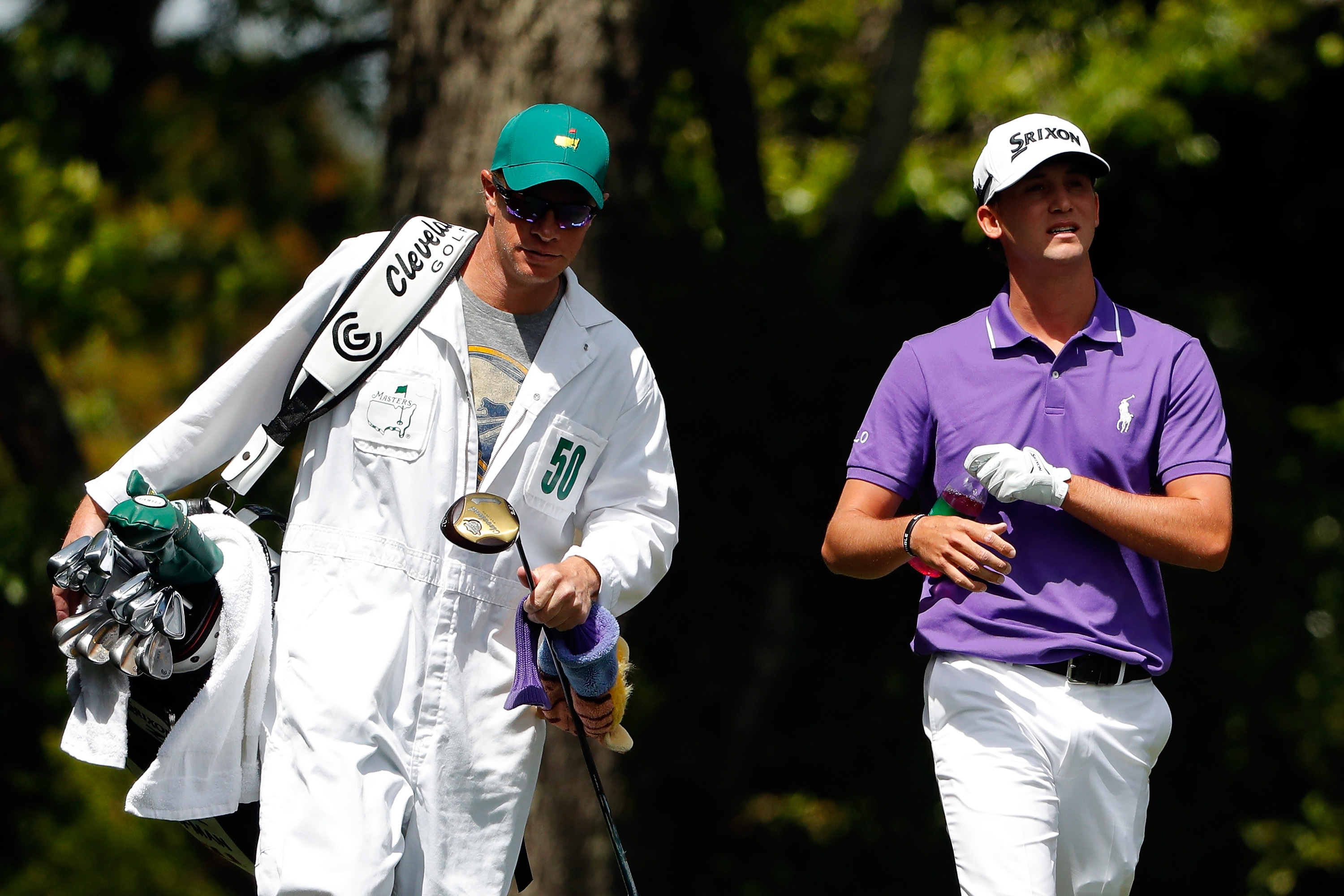 Caddie Aaron Alpern, a Buffalo native, and Smylie Kaufman had a memorable Masters tournament, as Kaufman was in the final pairing on Sunday.