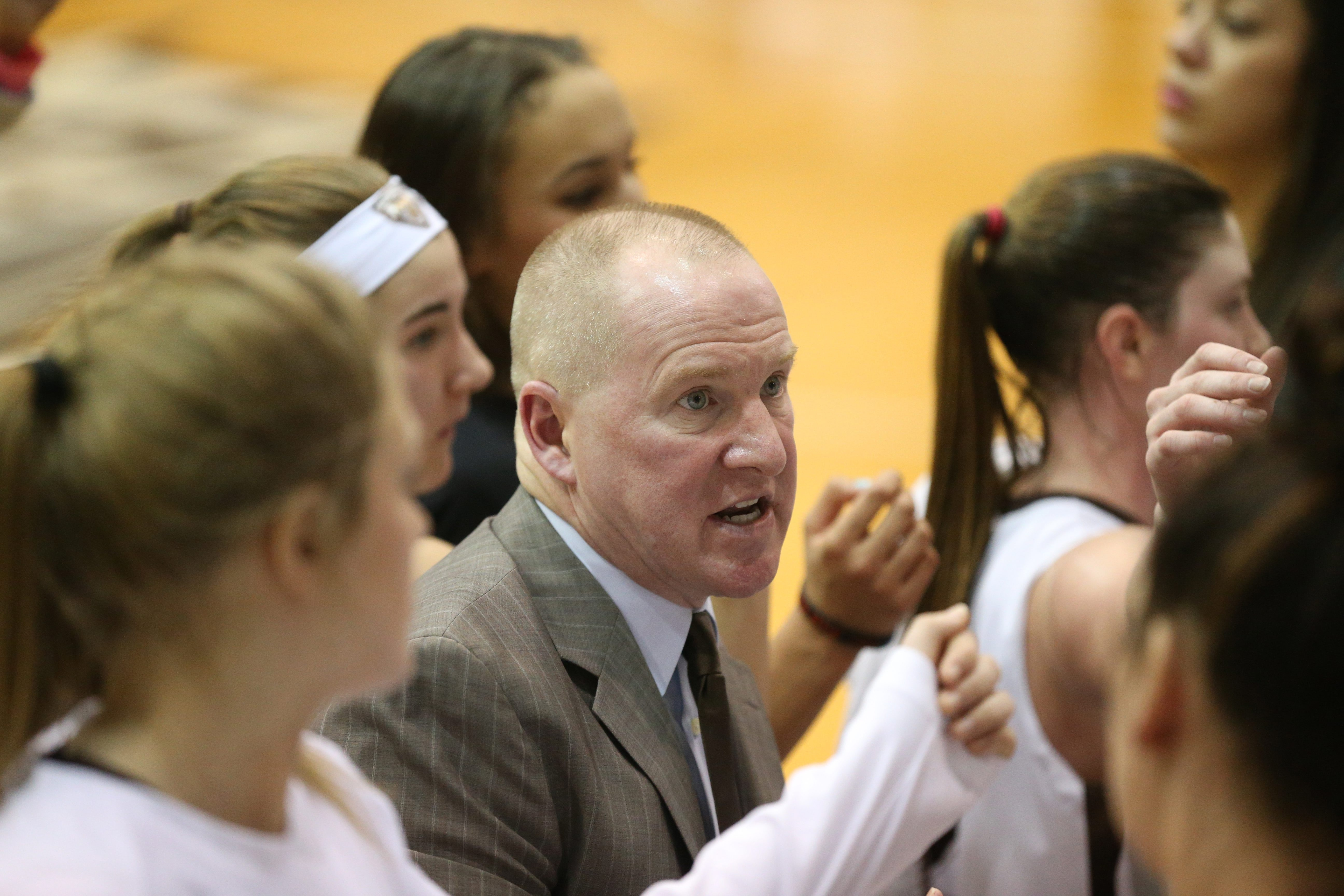 Jim Crowley led the St. Bonaventure women to the NCAA Tournament in two of the past five seasons.