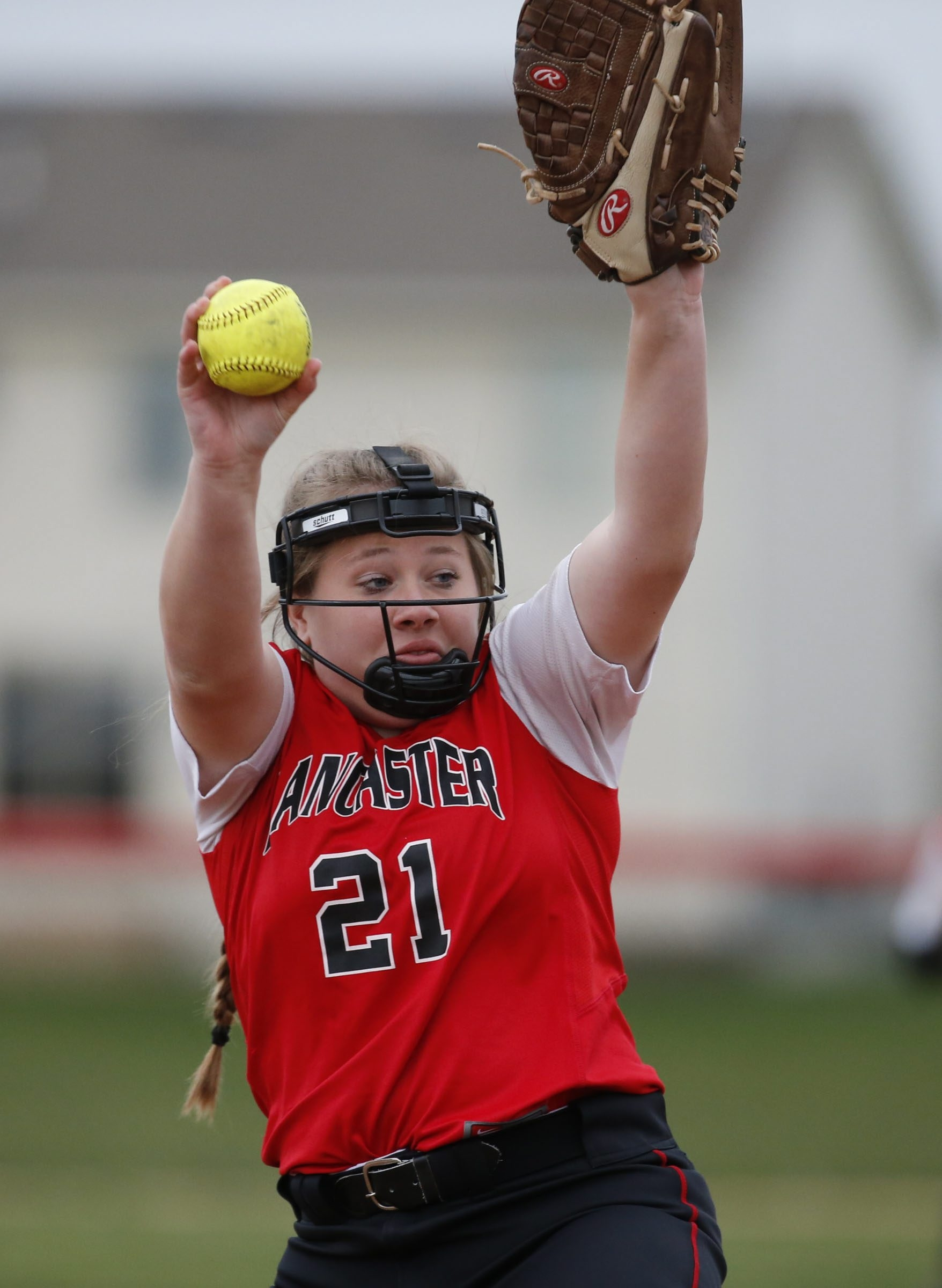 Lancaster pitcher Kiley Martz and her No. 1 ranked Legends teammates face No. 2 Frontier.