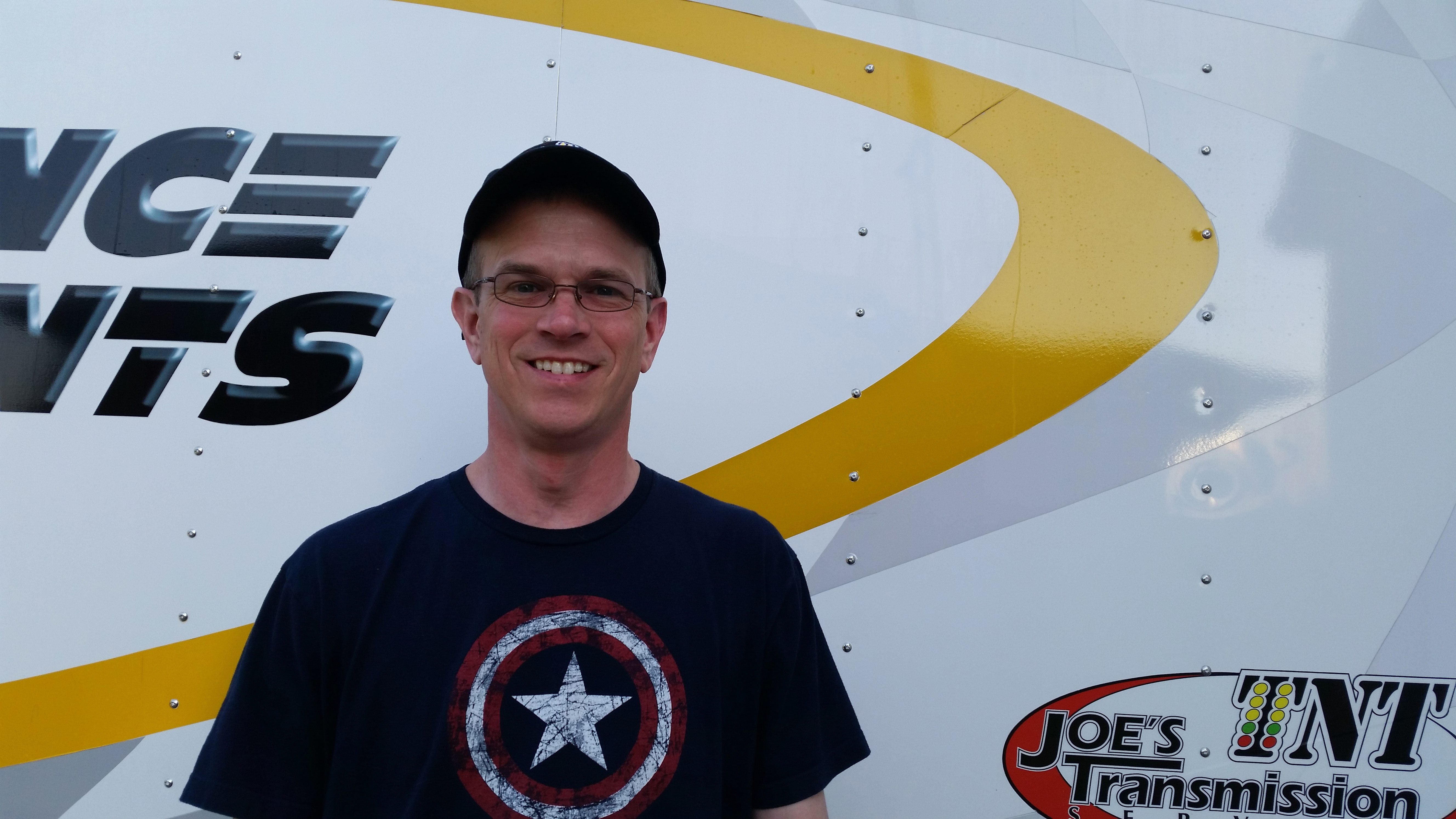 Ted Barnes is the featured driver of the week for the SpeedWeek page.