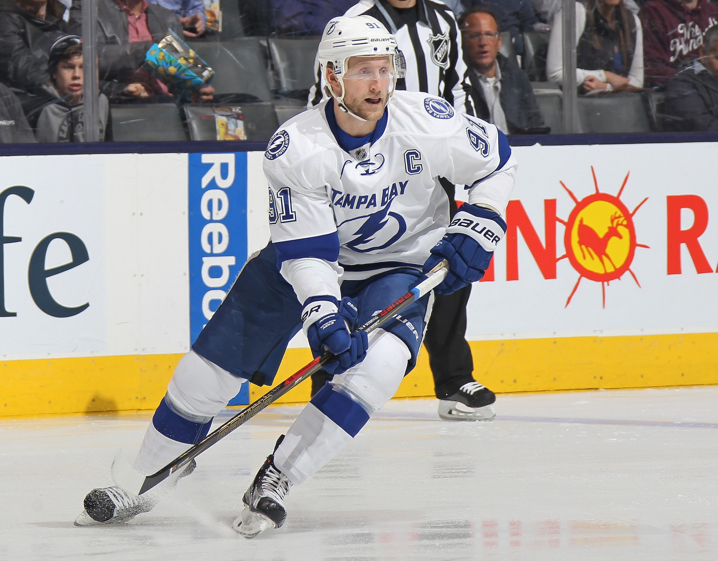 Would signing Steven Stamkos cripple the Sabres' long-term management of the salary cap? (Getty Images)