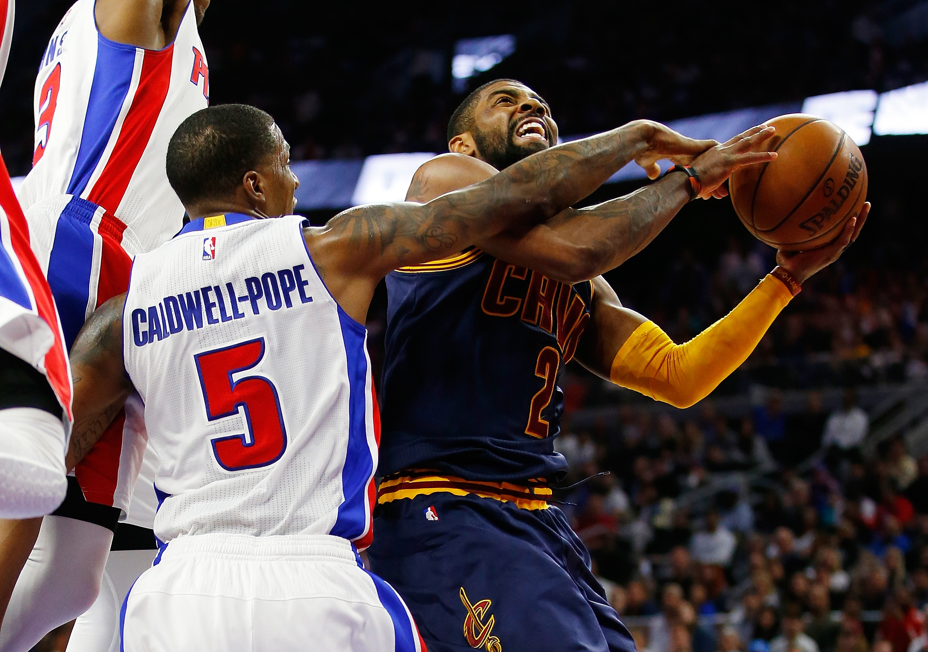 Kyrie Irving and the Cleveland Cavaliers are perfect in the playoffs so far.