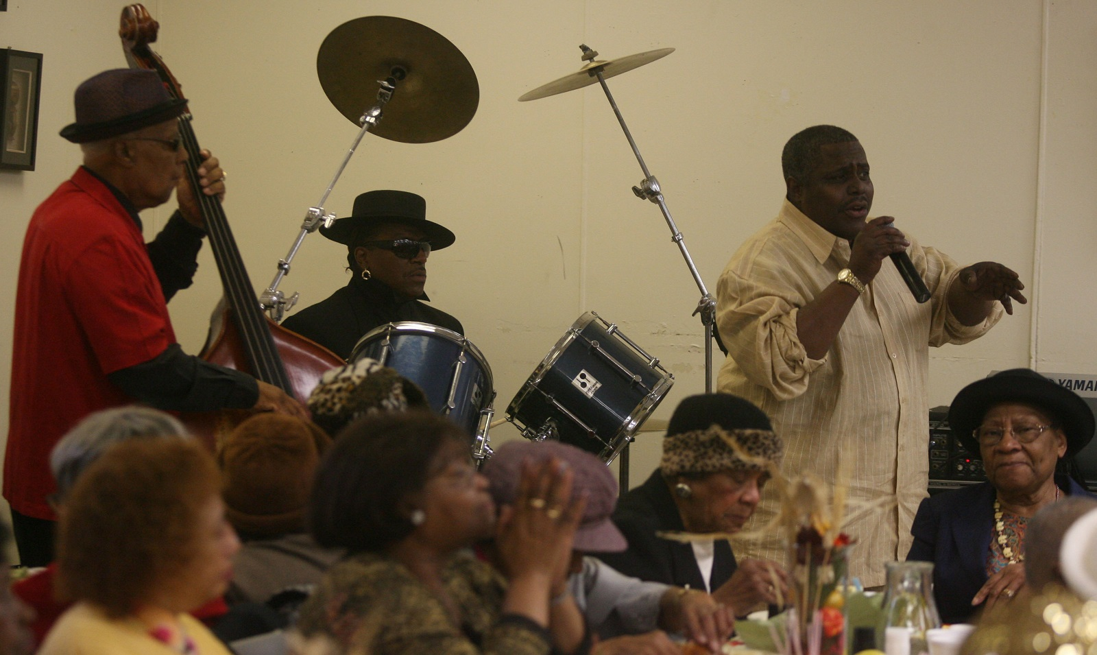 The late Pappy Martin, far left, will be honored at the Masten Jazz Festival. (Buffalo News file photo)