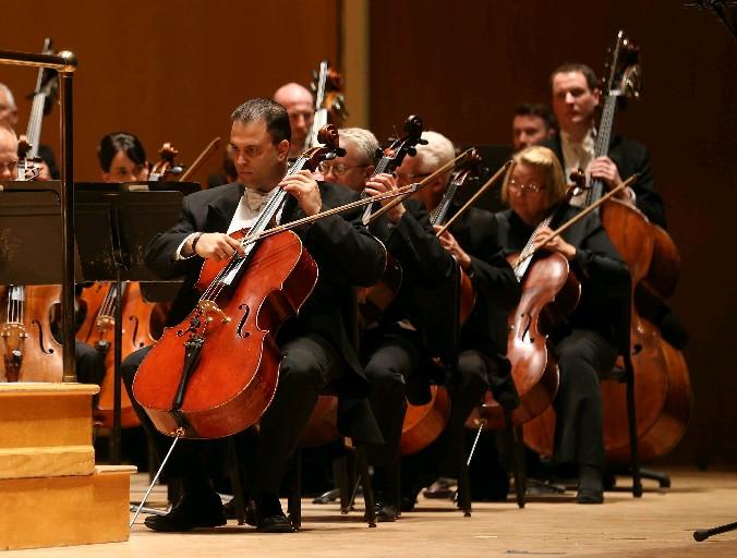 A Buffalo Philharmonic Orchestra concert can relax you, at times. (Sharon Cantillon/Buffalo News)