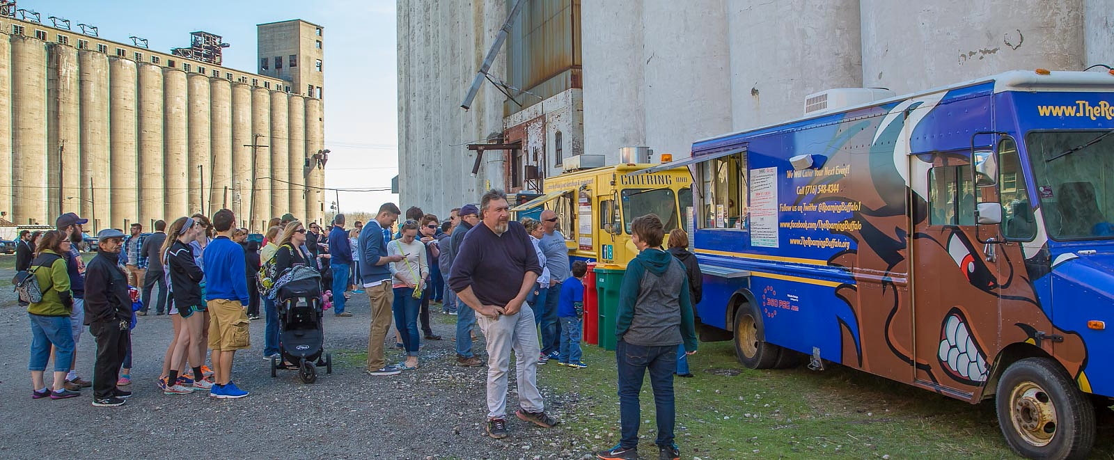 Food trucks are part of the draw at Silo City Boom Days. (Don Nieman/Special to The News)