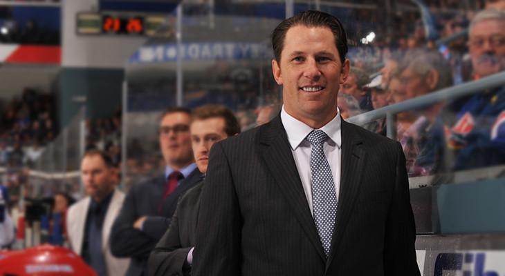 Jay McKee is the 22nd coach of the Kitchener Rangers. (Photo by Kitchener Rangers)