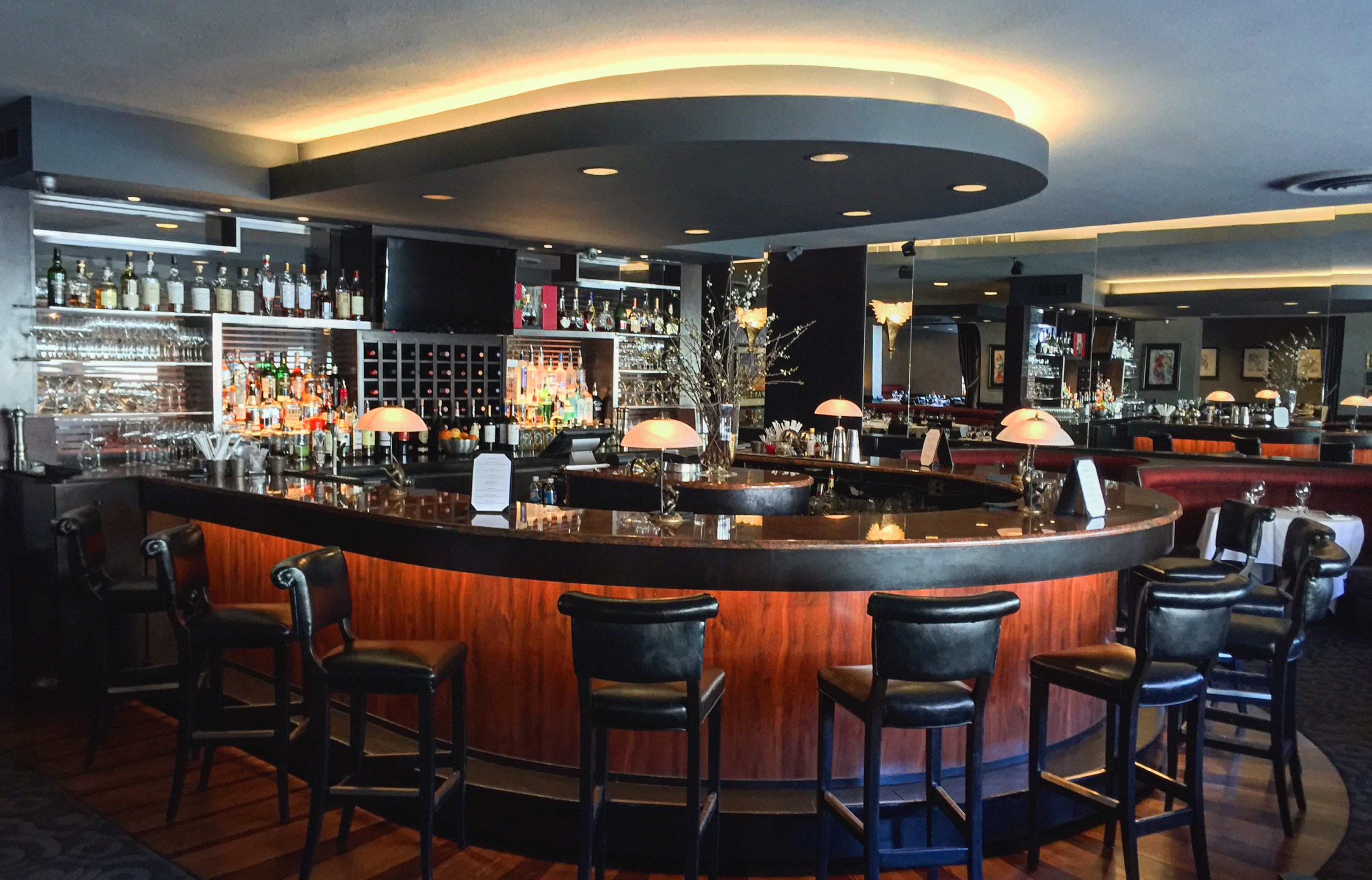 A spiffed-up backbar is one of the updates Oliver's has undertaken for its 80th anniversary. (Photo: Mike Ciancio)
