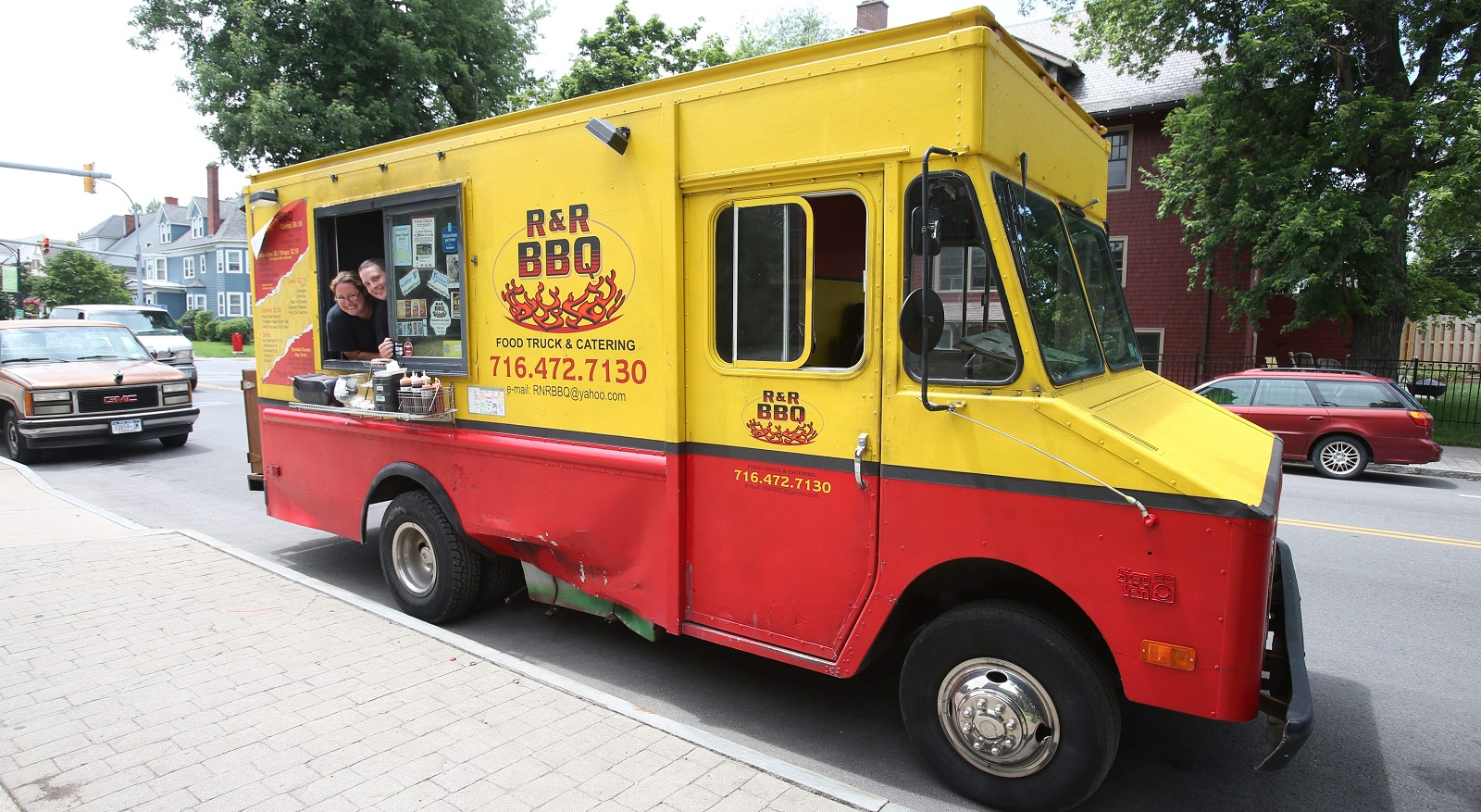 R&R BBQ Truck was the second food truck in Buffalo to start serving. (Robert Kirkham/Buffalo News file photo)