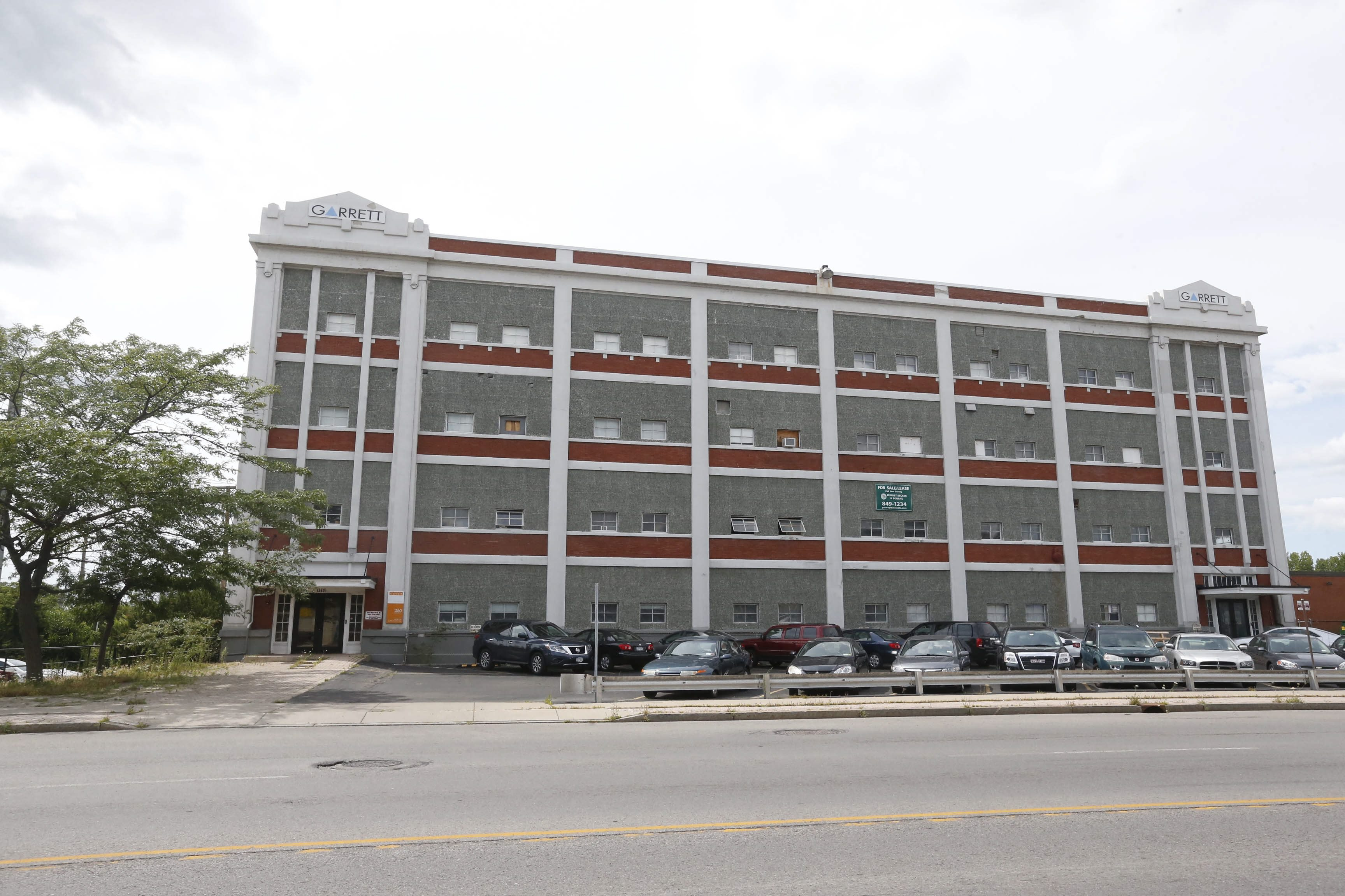 The former home of Garrett Leather, and before that The Mentholatum Co., at 1360 Niagara St., will become an apartment building. (Robert Kirkham/News file photo)
