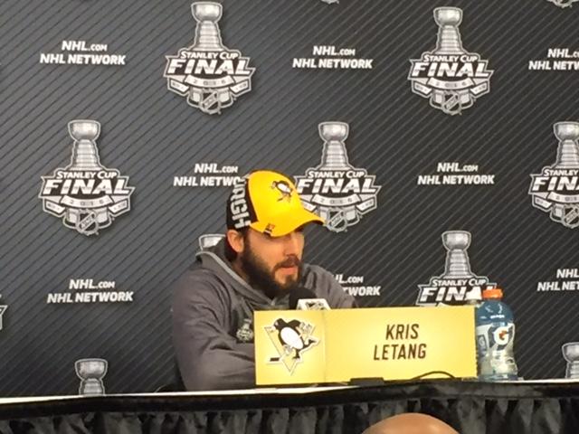 Pens defenseman Kris Letang says he's good to go for Game One (Mike Harrington/Buffalo News)