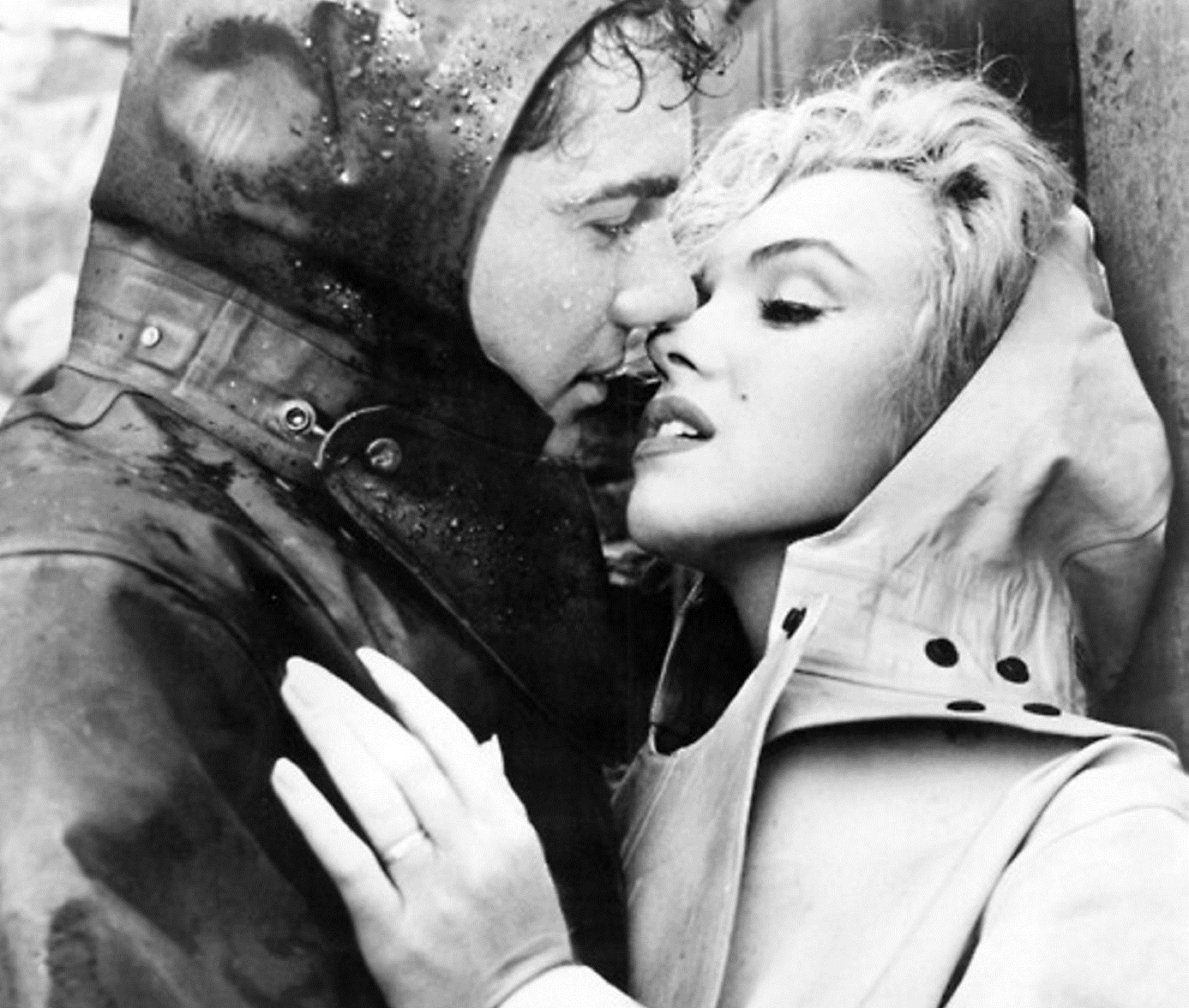 "Marilyn Monroe, right, starred in ""Niagara,"" which was filmed in Niagara Falls."