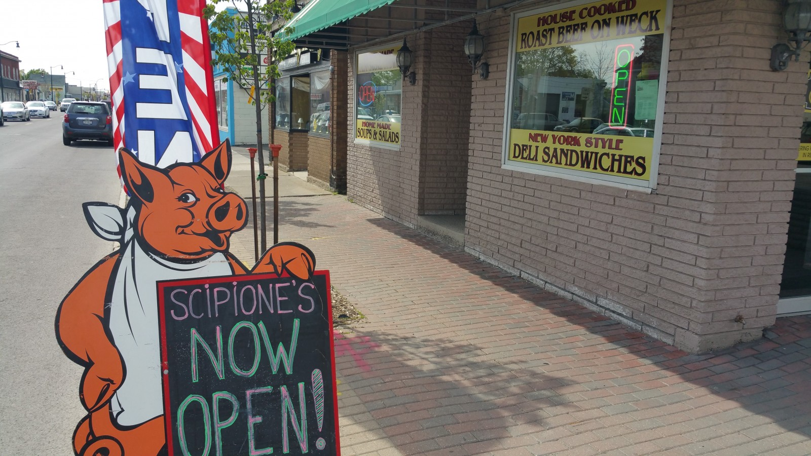 Veteran Pine Avenue caterers Scipione's have added deli operation.  (Mike Kurilovitch/Special to The News)
