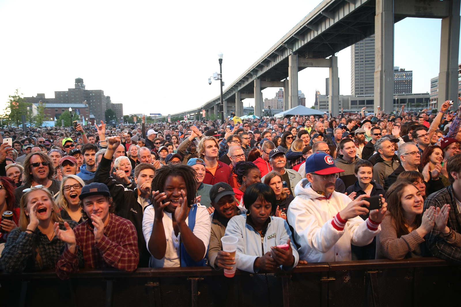 The Thursday Canalside concerts will now carry a $5 fee. (Sharon Cantillon/Buffalo News file photo)