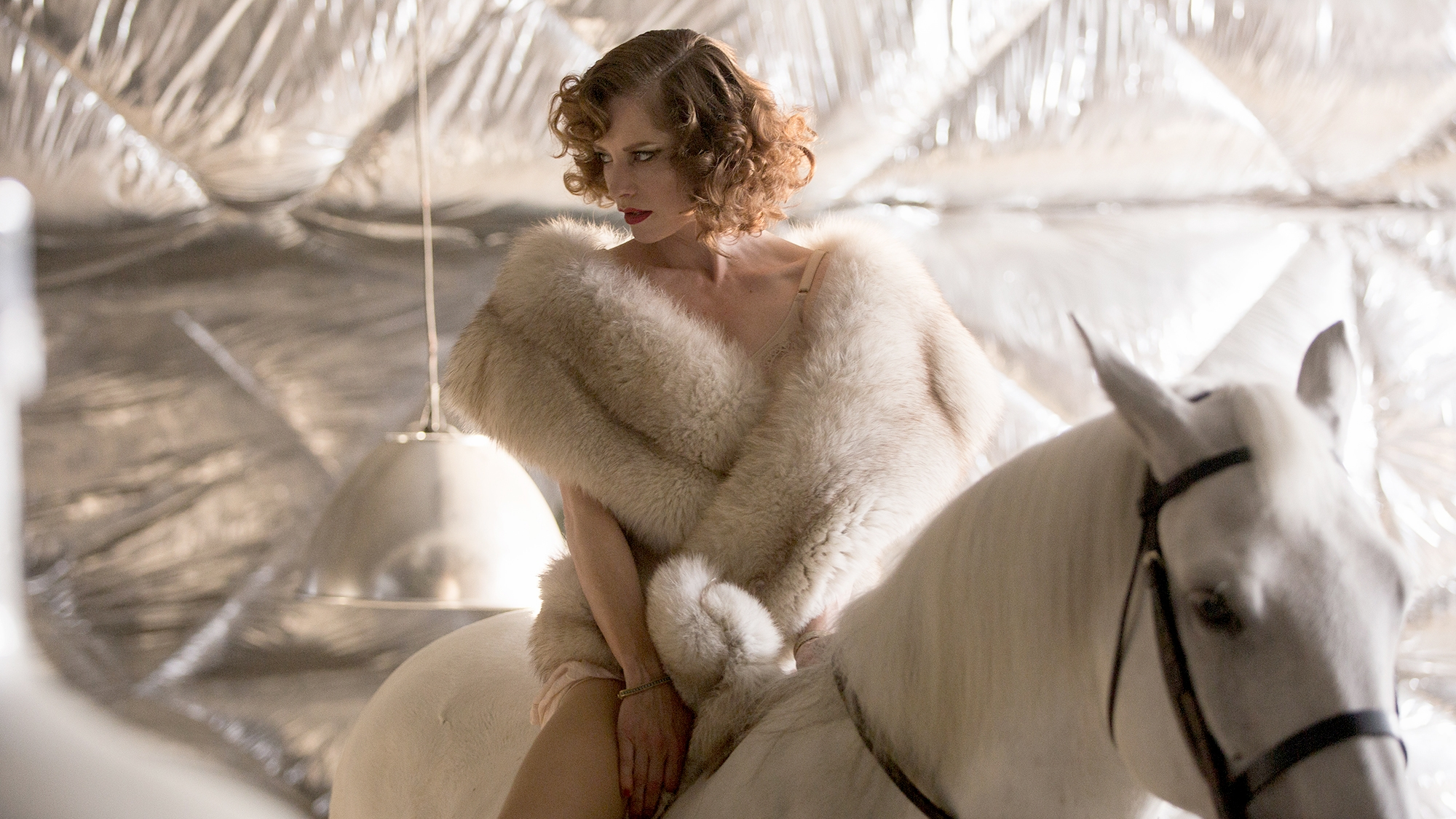 "Sienna Guillory stars in ""High-Rise."""