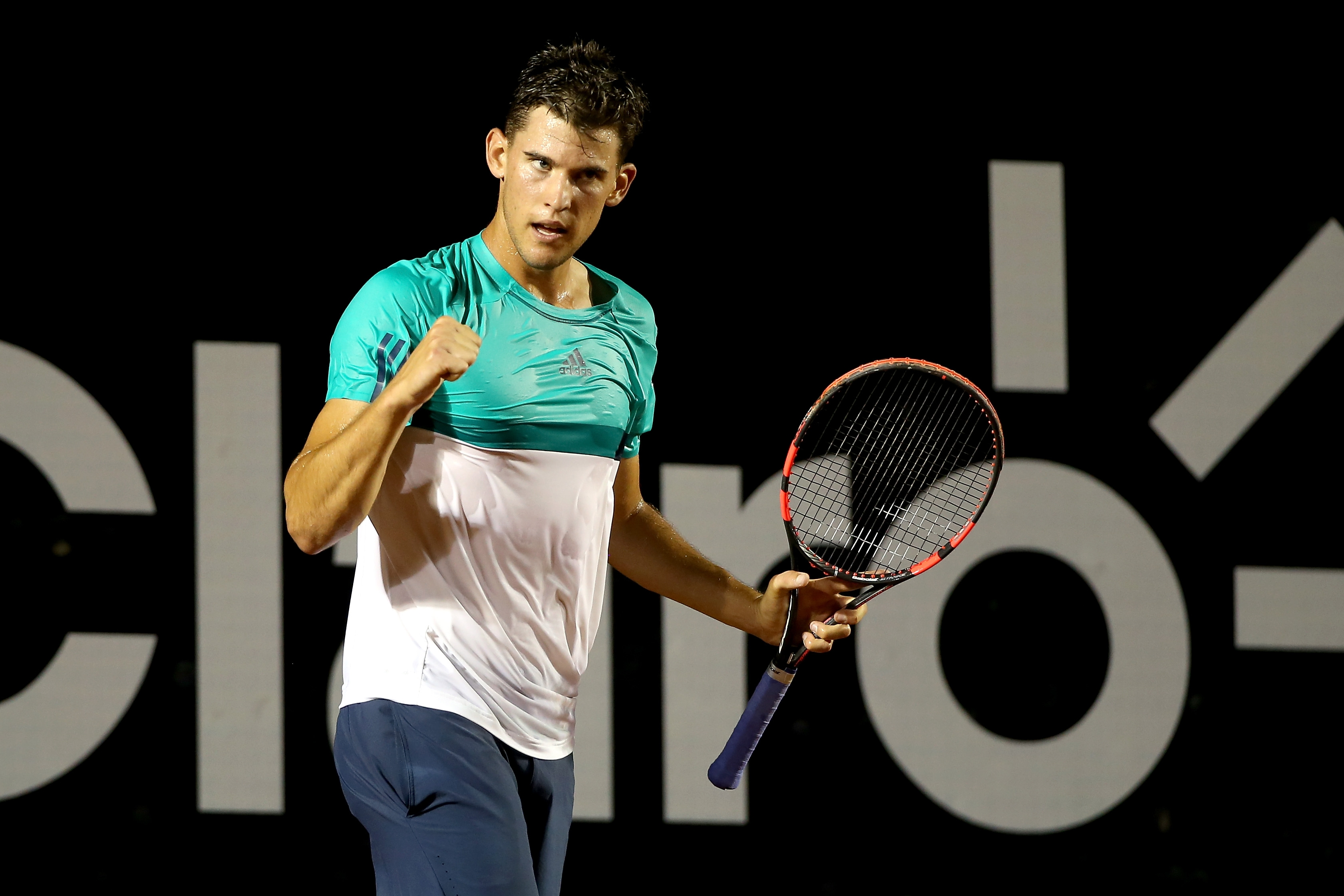 Dominic Theim of Austria could break into the world top five by season's end. (Getty Images)