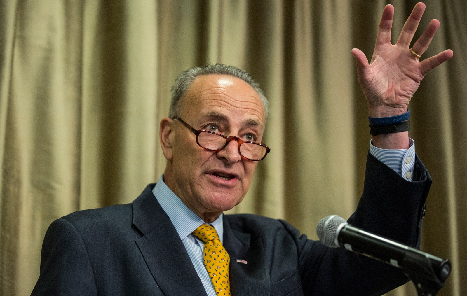 Sen. Chuck Schumer plans to oppose many of President Trump's remaining cabinet choices. (Getty Images)