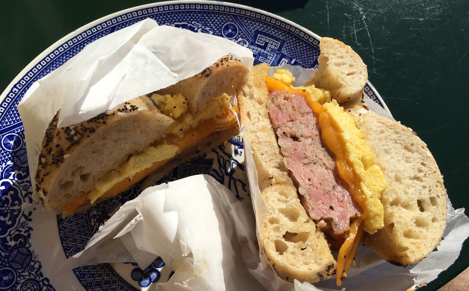 The Aaliyah sandwich has breakfast sausage and maple butter. (Nick Guy/Special to The News)