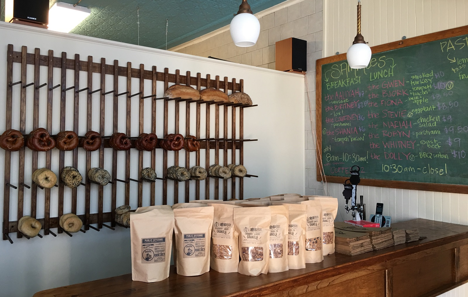 Bags of Public Espresso coffee are on sale at BreadHive, too. (Nick Guy/Special to The News)