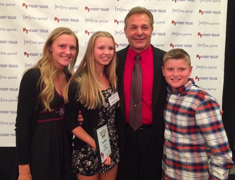 Dennis DiPaolo and family.