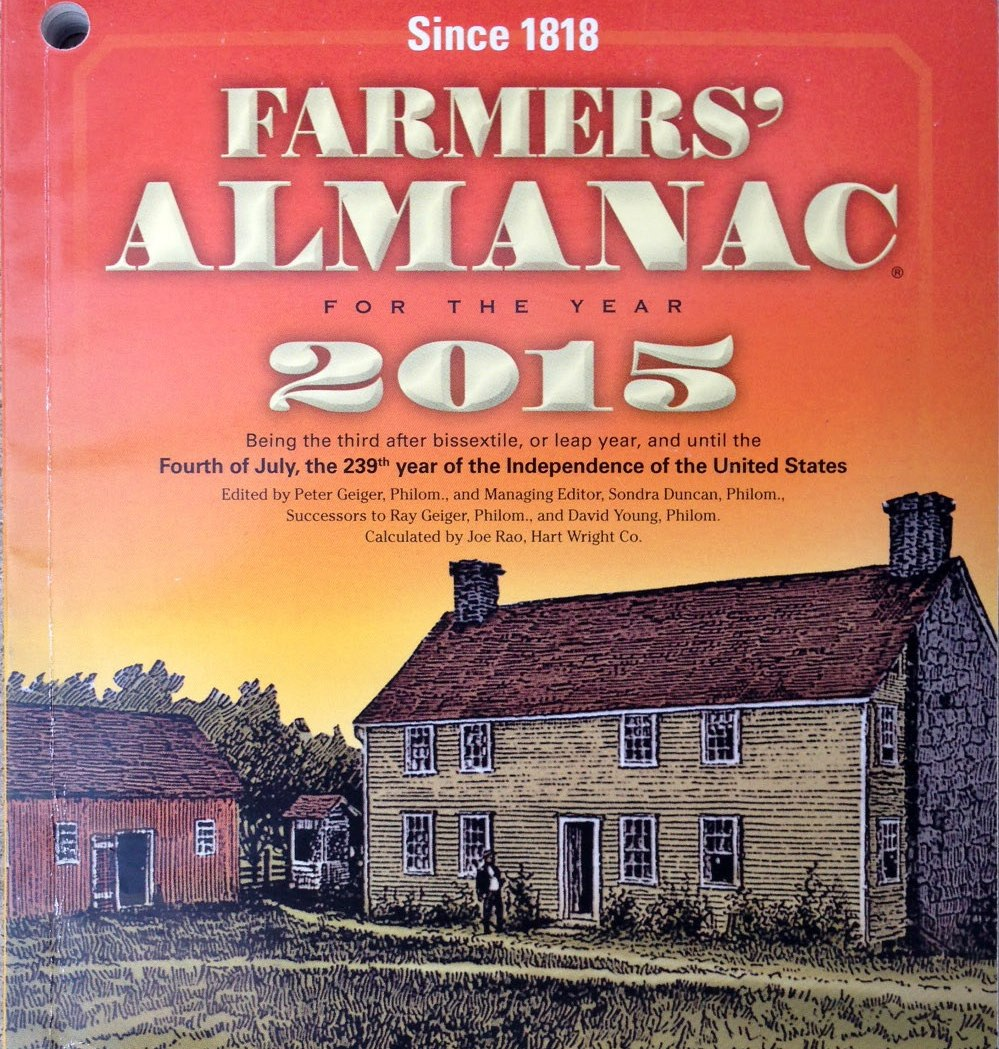 """Don Paul is critical of """"ultra"""" long-range forecasts, including those found in the Farmers Almanac."""