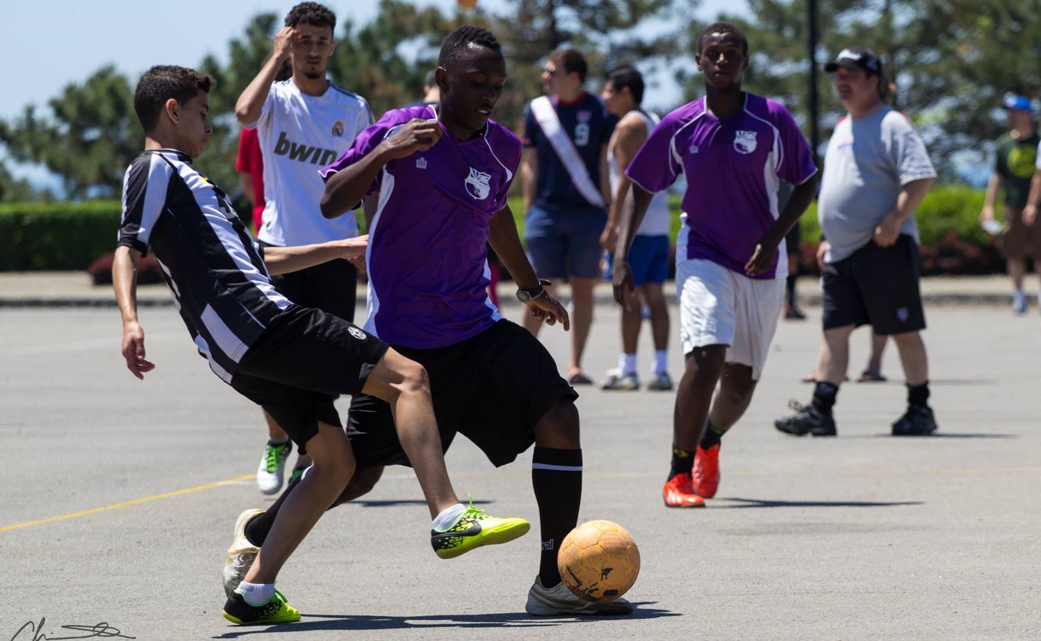 Image from the 2014 Street Soccer Tournament, via Buffalo Soccer Council.