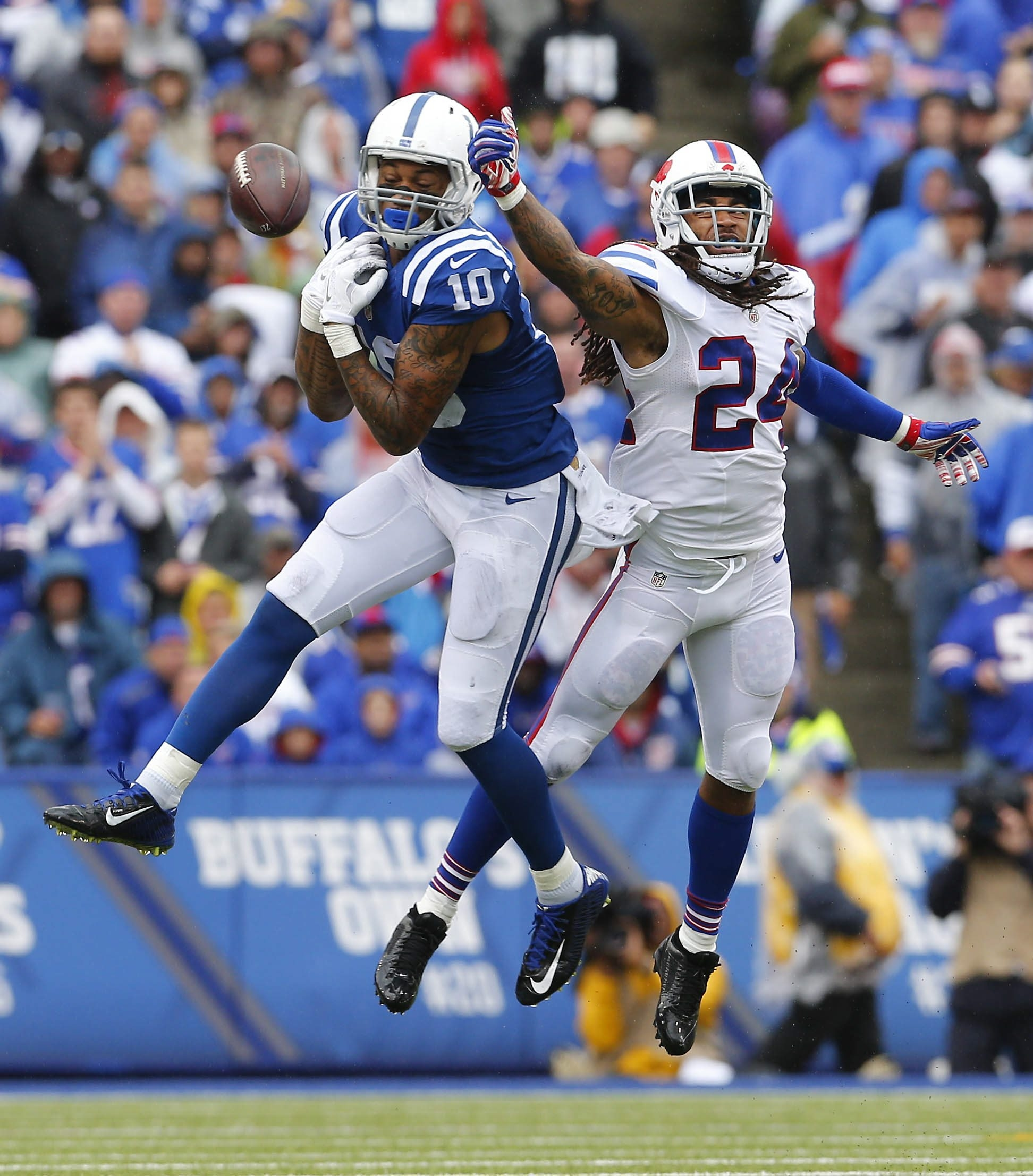 Cornerback Stephon Gilmore has proven himself to be one of the key components on defense for the Bills when he's on the field.