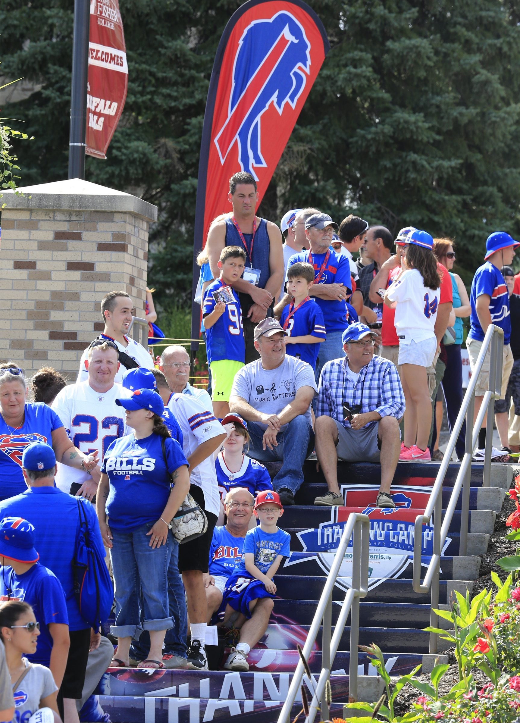 There will be plenty of competition for fans to see at Bills training camp. (Harry Scull Jr/Buffalo News)