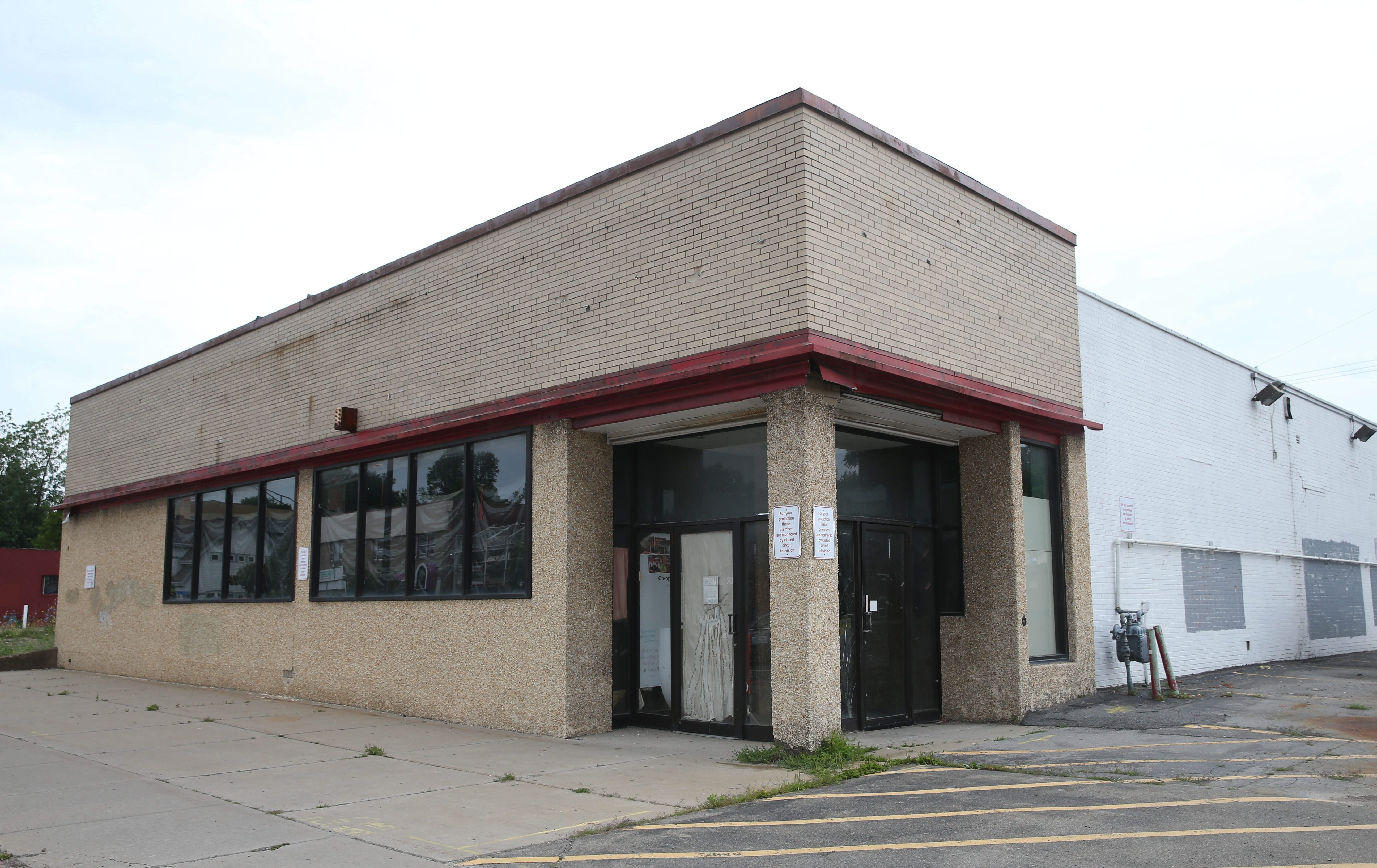 The Lexington Cooperative Market will include a restaurant and sidewalk cafe at its second location, which will open in a former CVS drug store  at 1678 Hertel Ave. (Sharon Cantillon/Buffalo News)