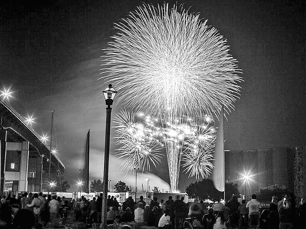Fireworks will light up Canalside tonight to celebrate Independence Day. (Buffalo News file photo)