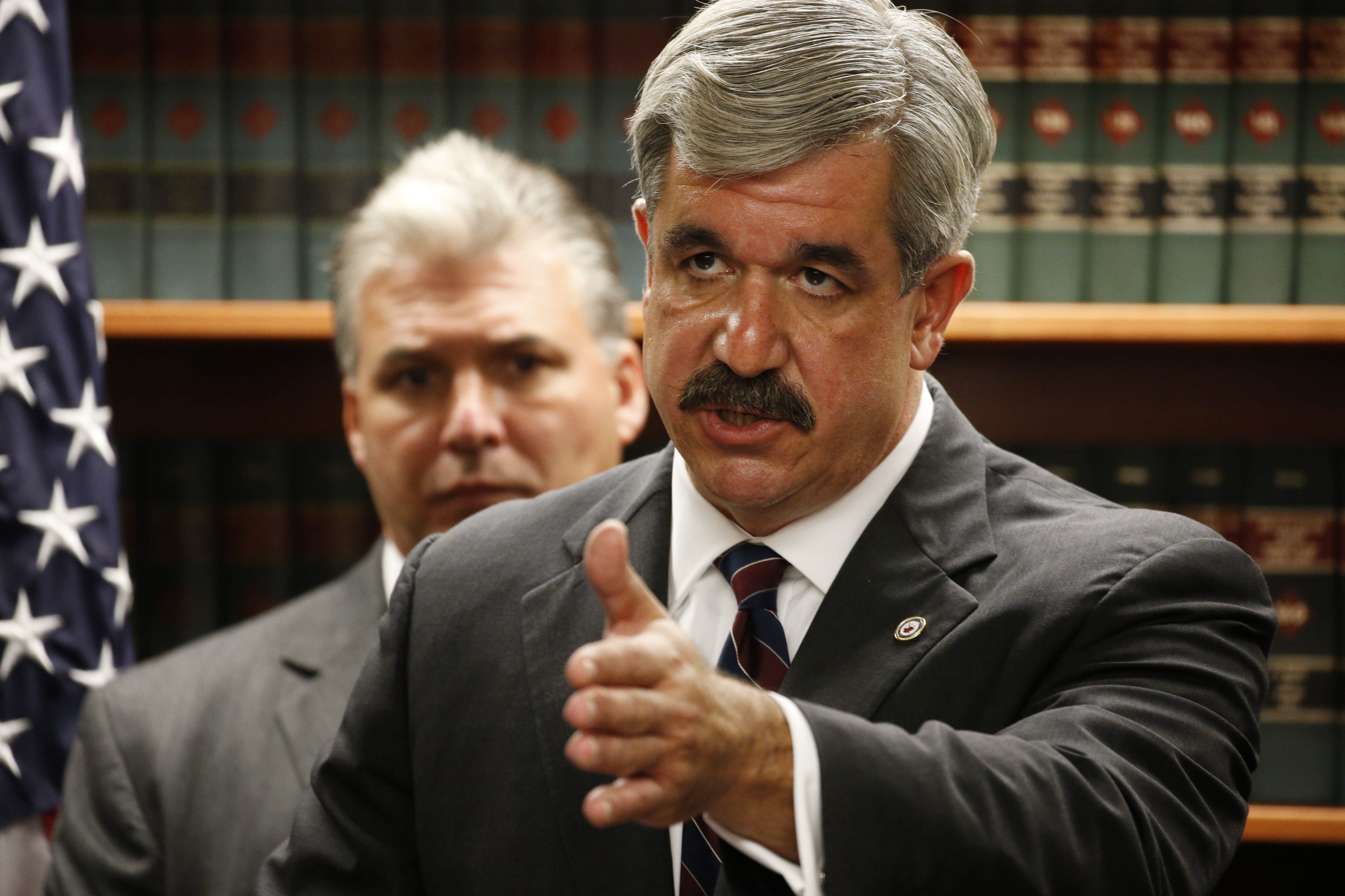 Former Erie County District Attorney Frank Sedita III was asked to go after political operative G. Steven Pigeon, but he said such action wasn't warranted.