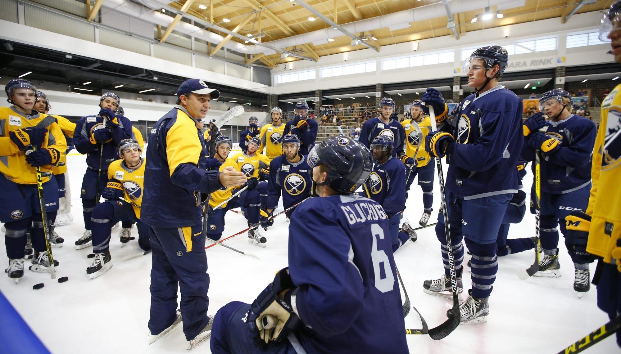 Rochester Amerks coach Dan Lambert has a larger role in his second Buffalo Sabres development camp.
