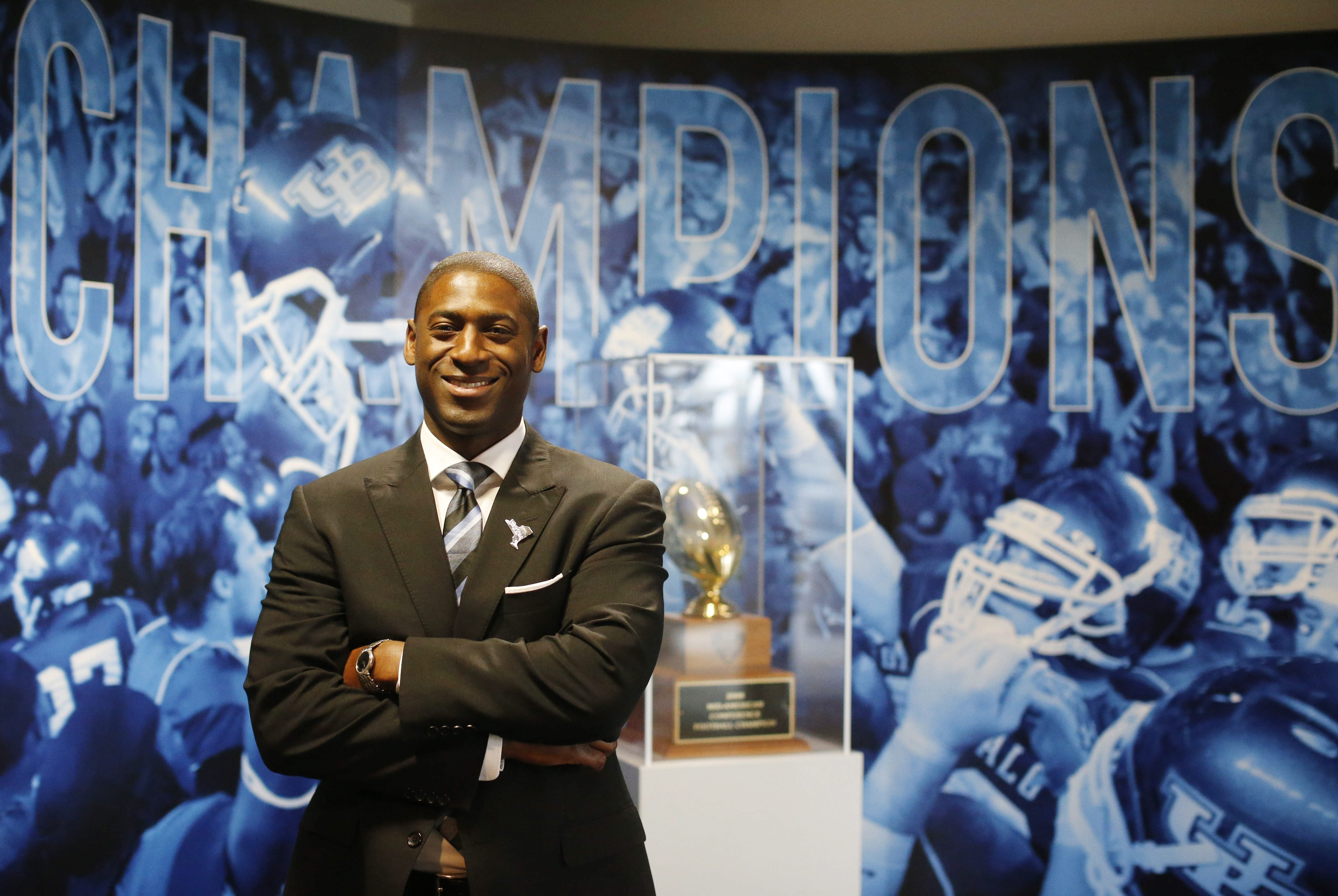 UB's Allen Greene wants a new attitude by Western New Yorkers.