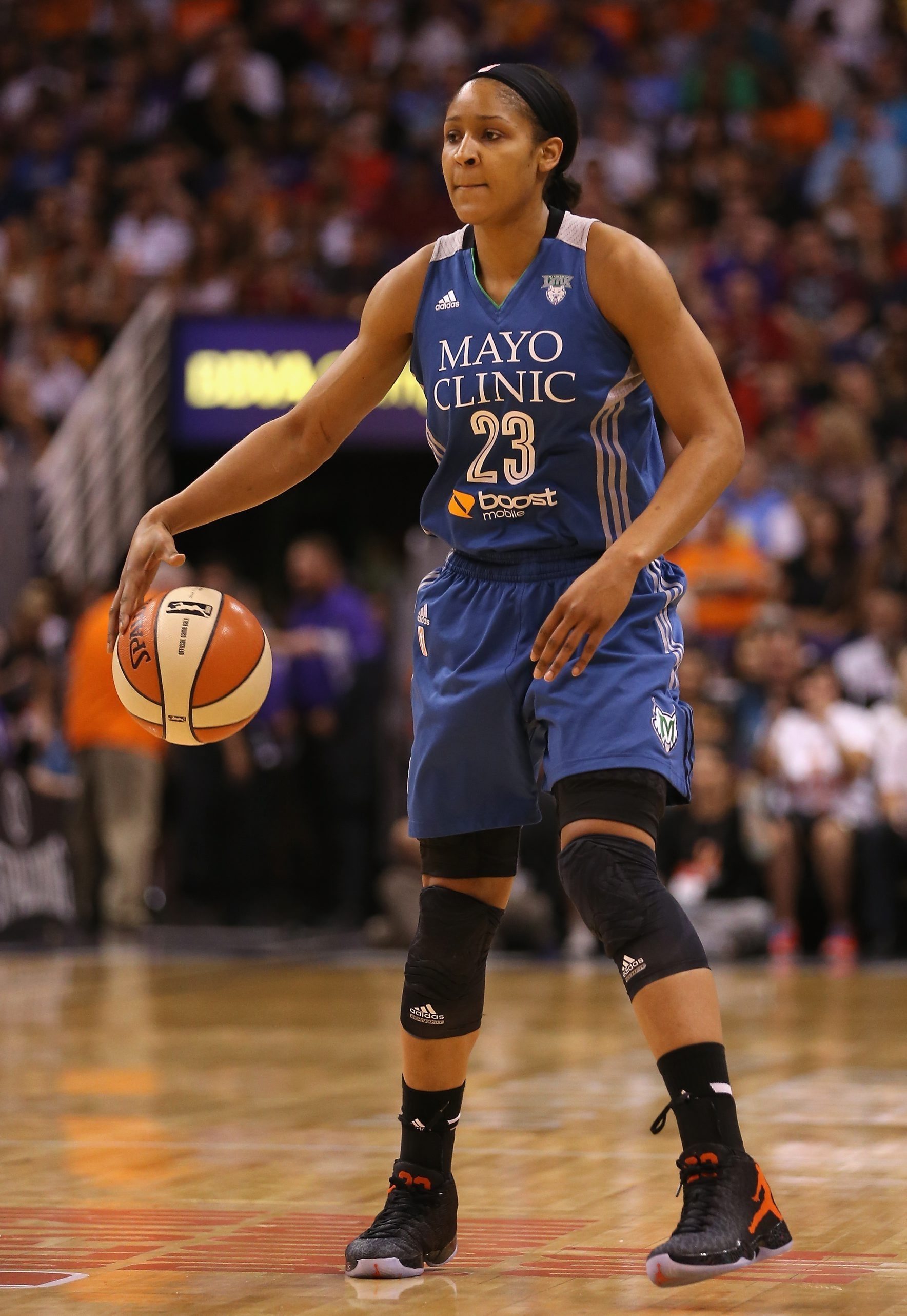 Maya Moore and her teammates on the Minnesota Lynx made a statement, and they're proud of it.