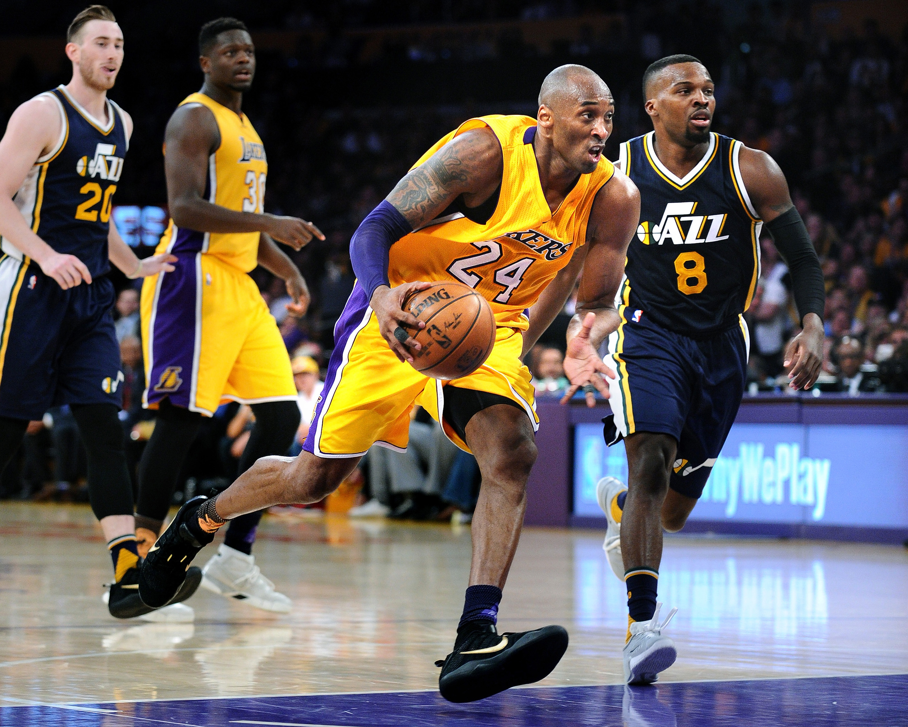 Like any young player, Kobe Bryant wishes he could have done some things differently early in his career.